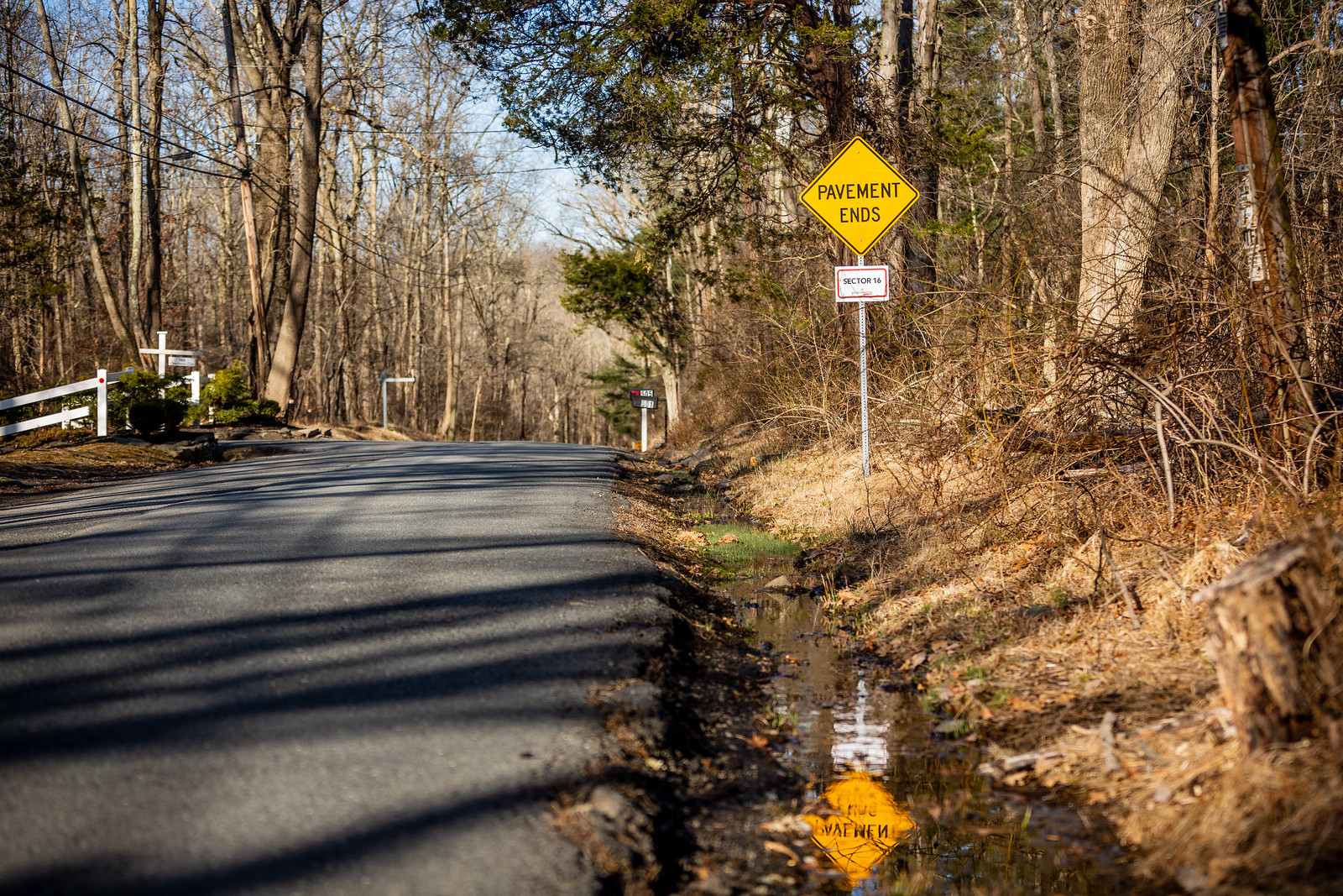 Sector Sixteen, one of the earlier unpaved segments of the Hell of Hunterdon.