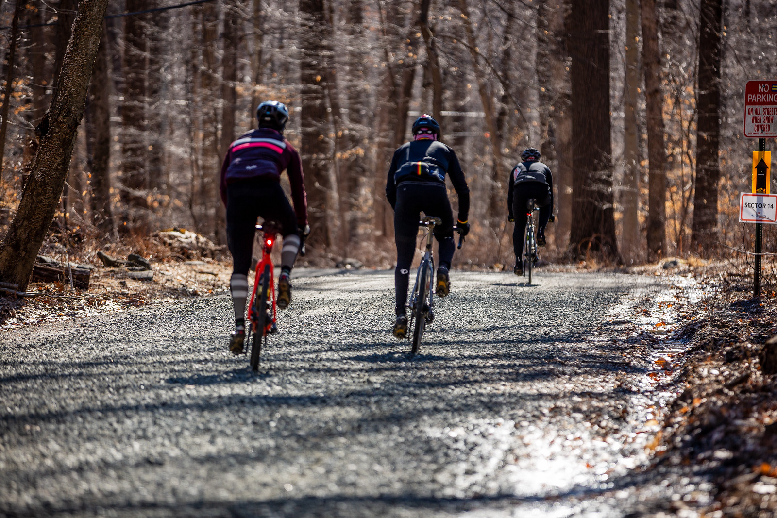The gravel sectors were perfect this year, and sector fourteen was no exception.
