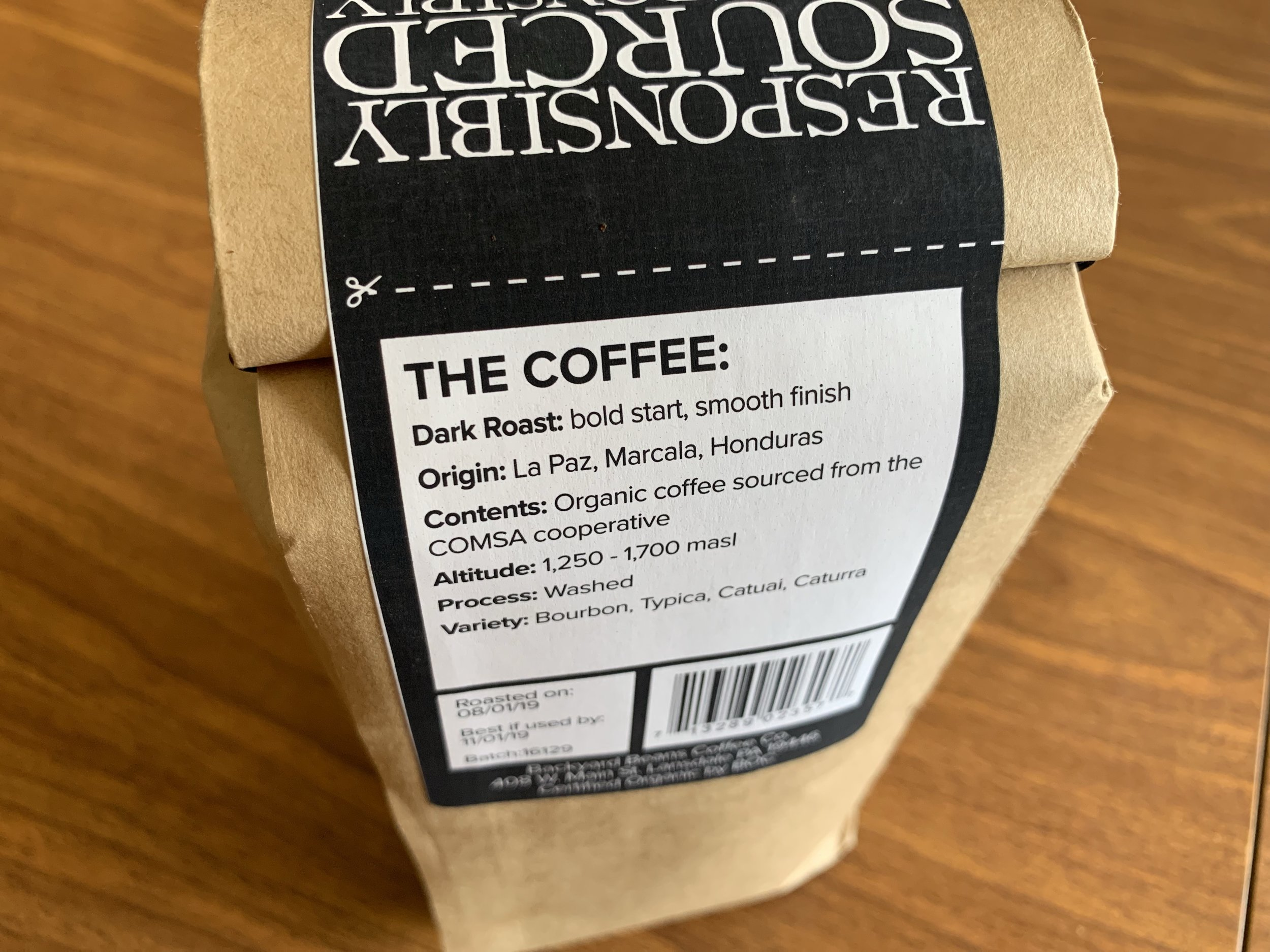 As usual there was an absurd amount of enjoying the freshly roasted bean aroma from the bag. We even got the bag in that sweet spot of the two week window since roasting.