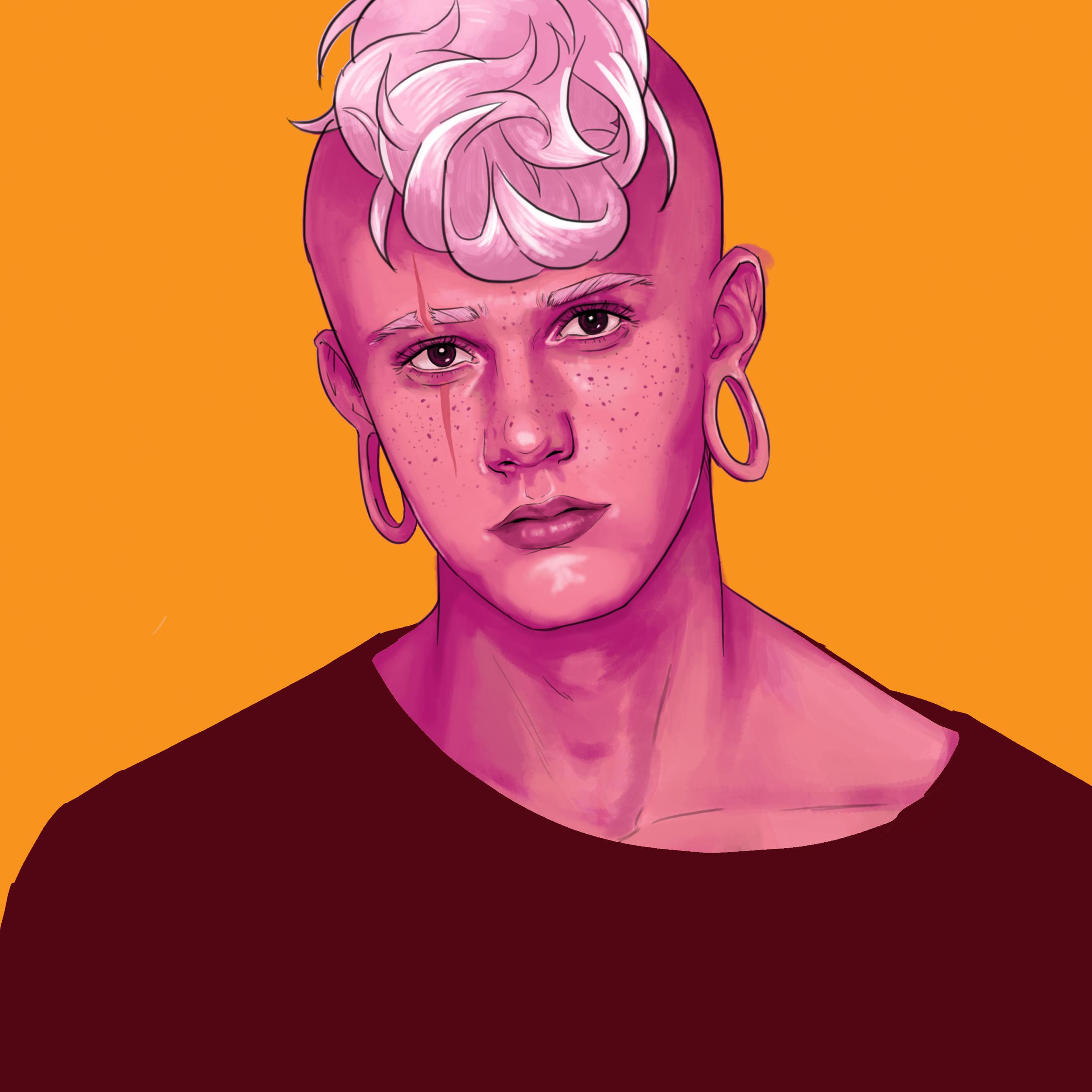 Pink Lars.