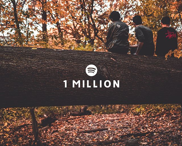 Thank you for one million overall @Spotify streams! This may be just a small achievement in the grand scheme of things, but it's a milestone nonetheless. One that we are grateful for. It won't be long before there's something new on the horizon. Keep an eye out.