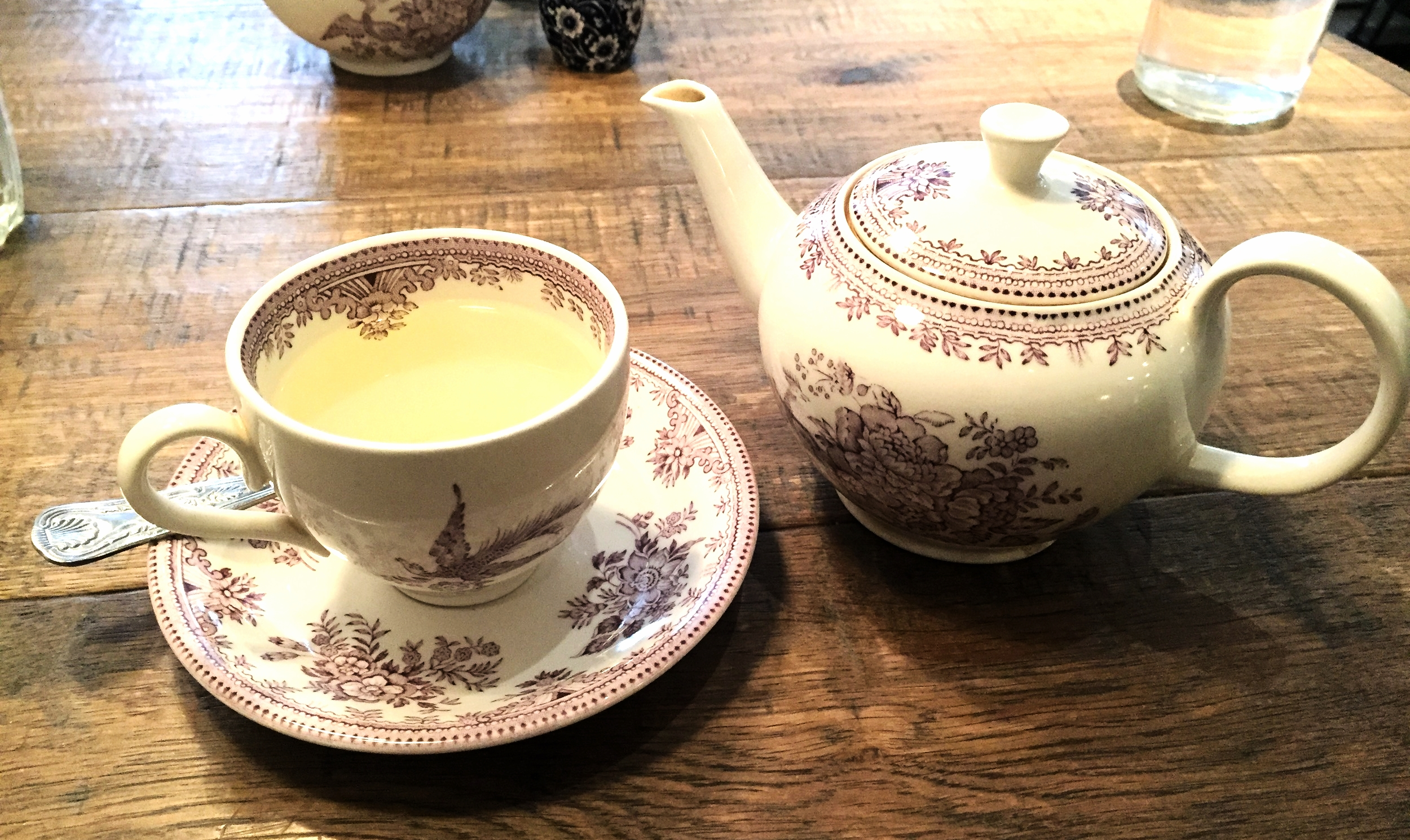 Tea at NAC Breakfast
