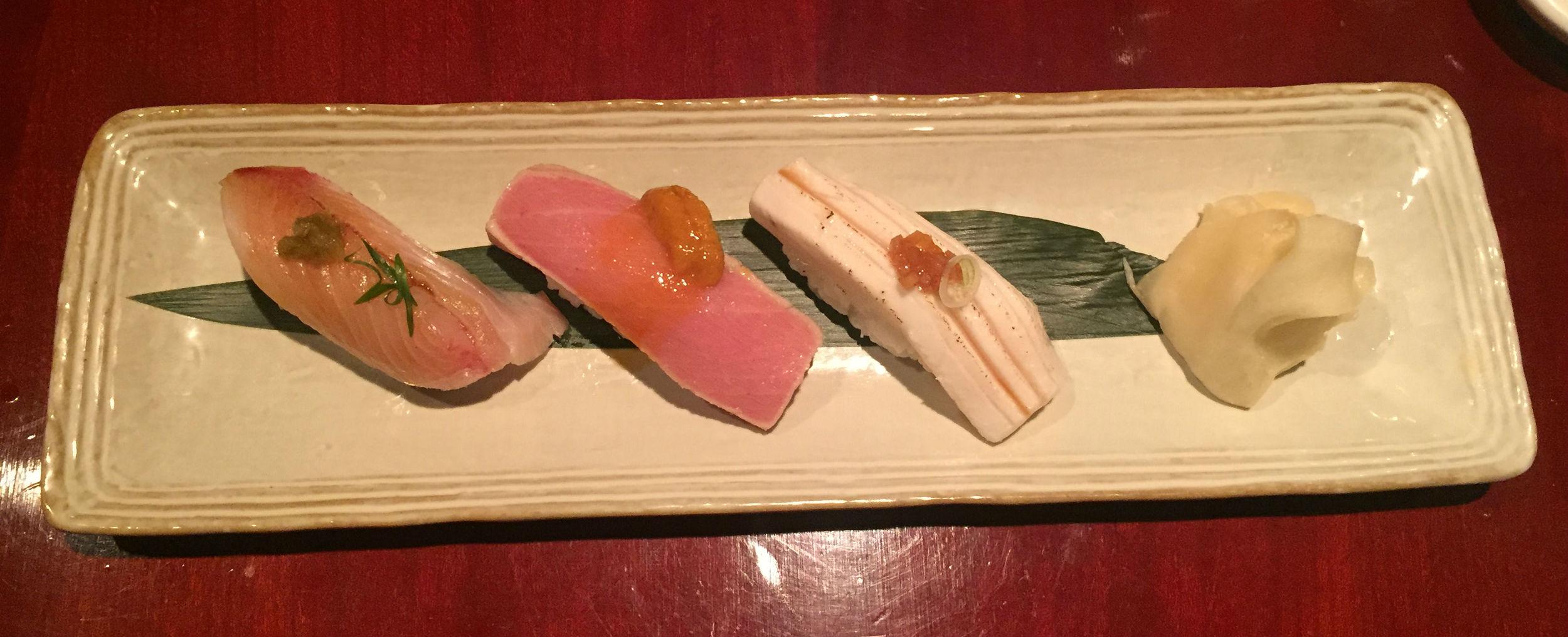 Tsukiji sushi restaurant review