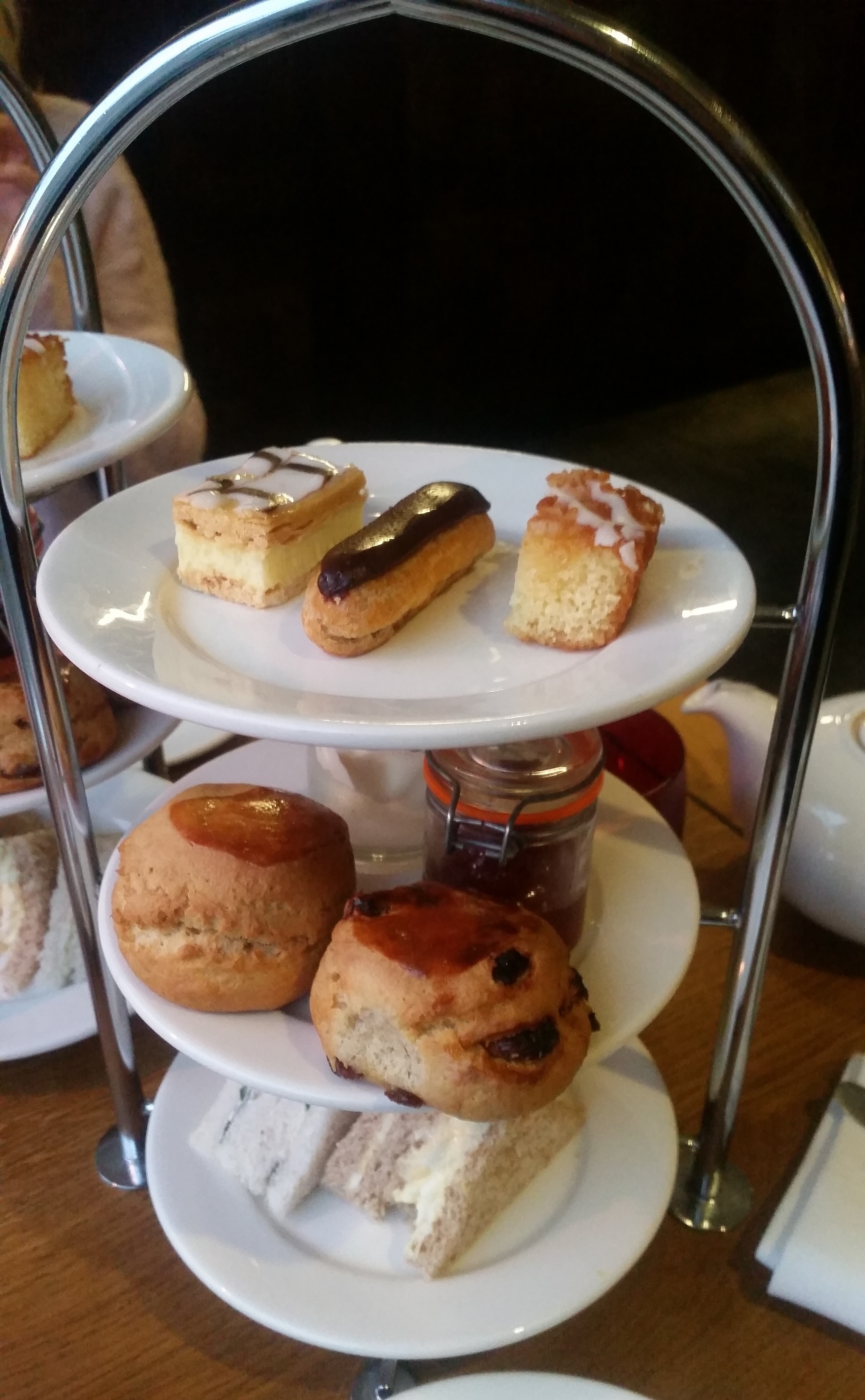 Review - Afternoon tea at Perkin Reveller