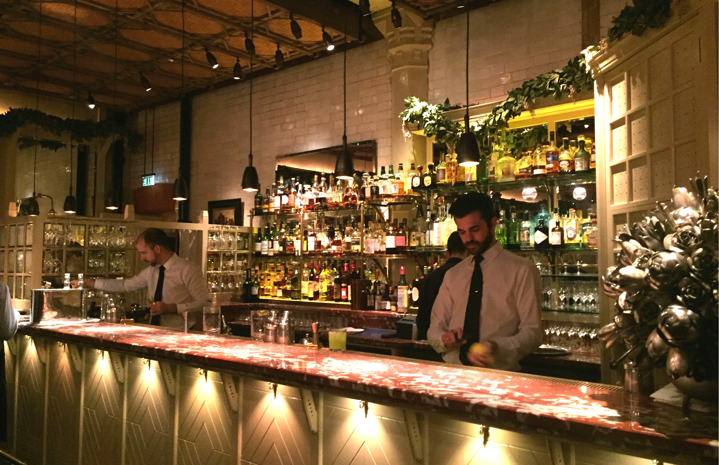 Chiltern Firehouse bar area - review