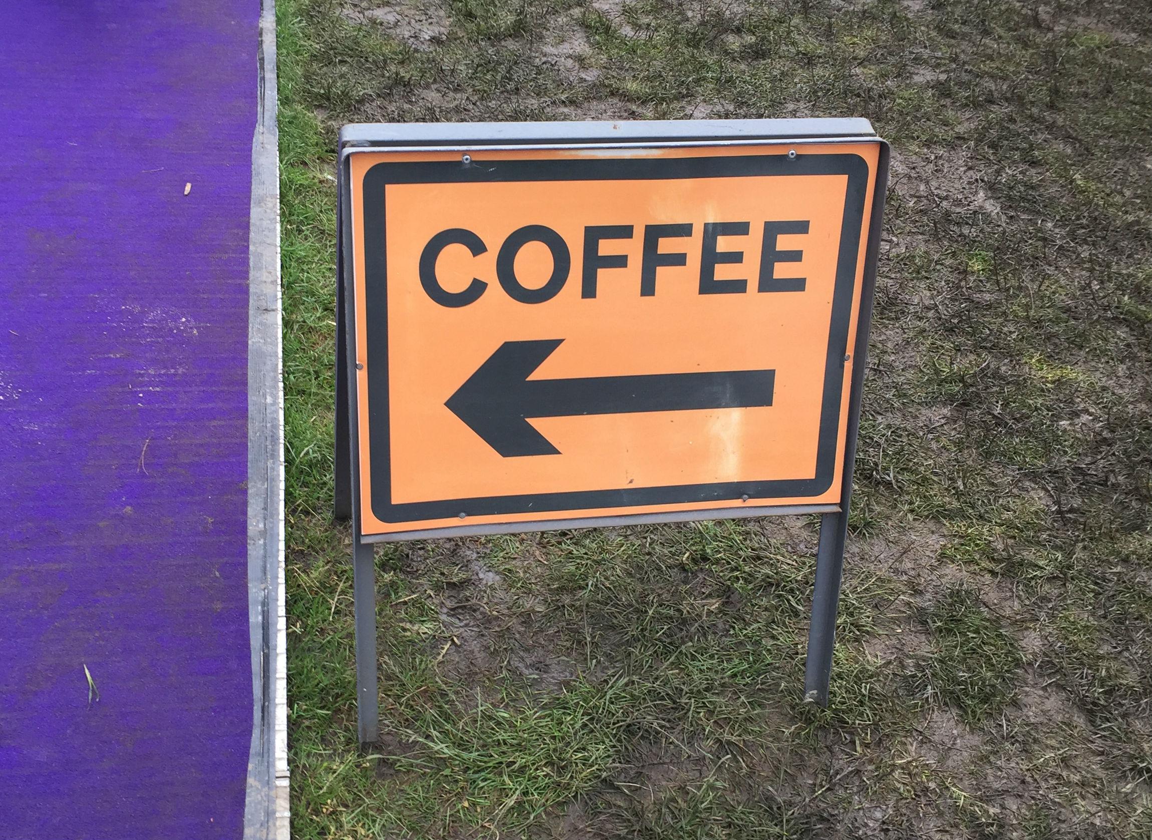 Coffee in the mud - Taste of London 2016