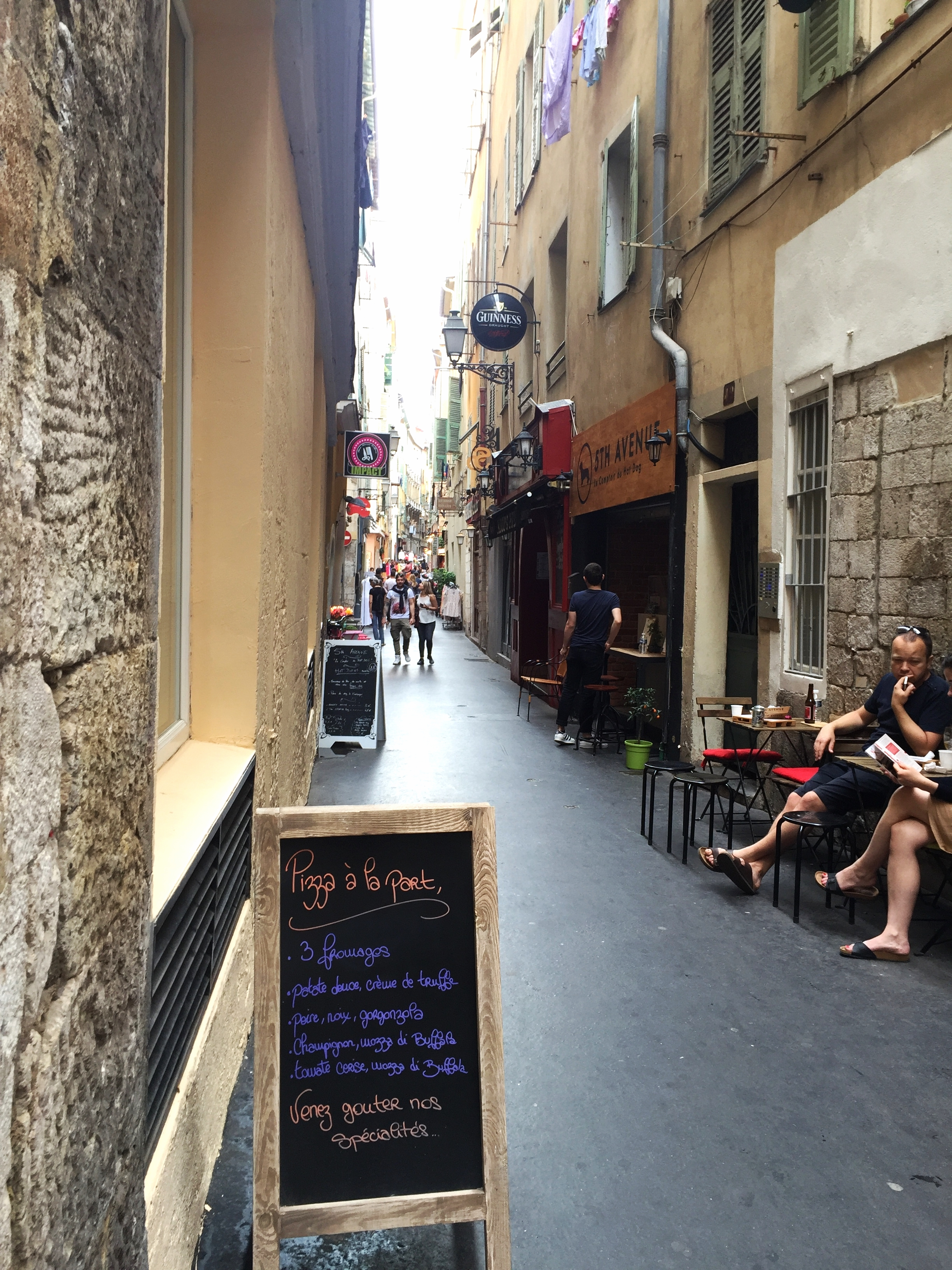 Streets of Nice Old Town - Nice Travel Blog