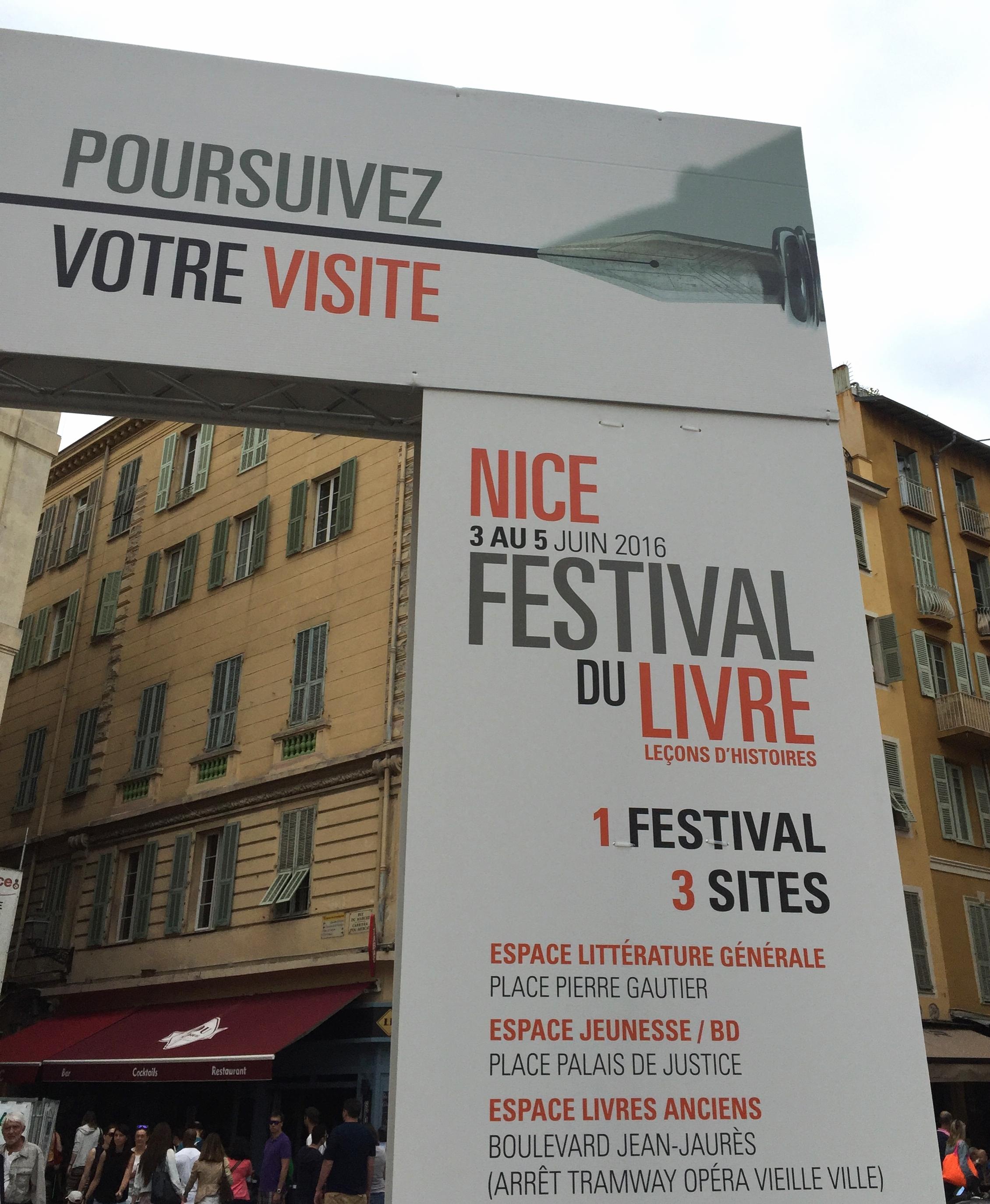 Nice Literature Festival - Nice travel blog
