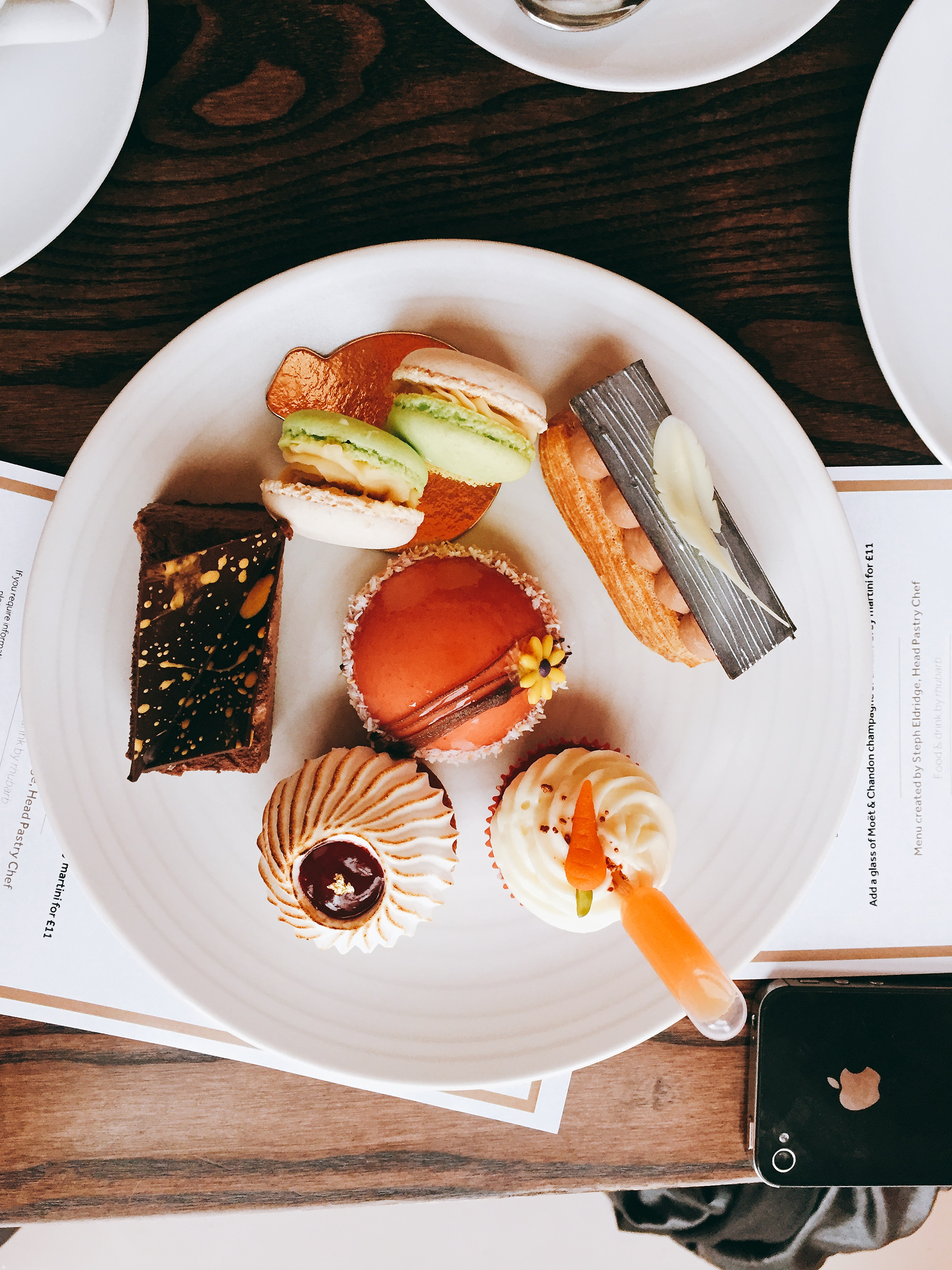Cakes - Afternoon Tea at the Royal Albert Hall