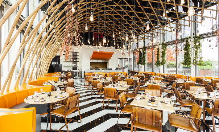 Sushisamba London during the day