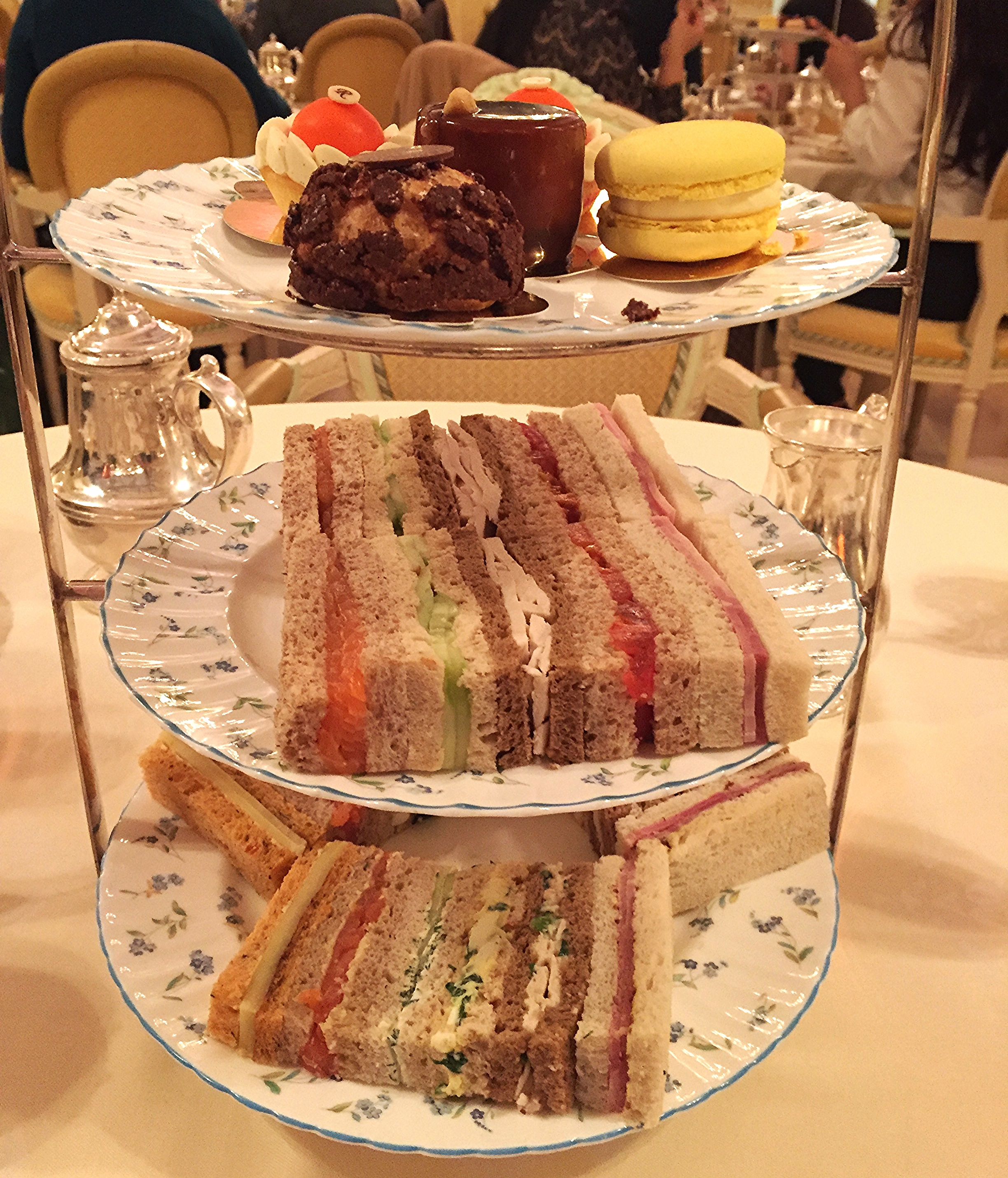 Review The Ritz Afternoon Tea Menu