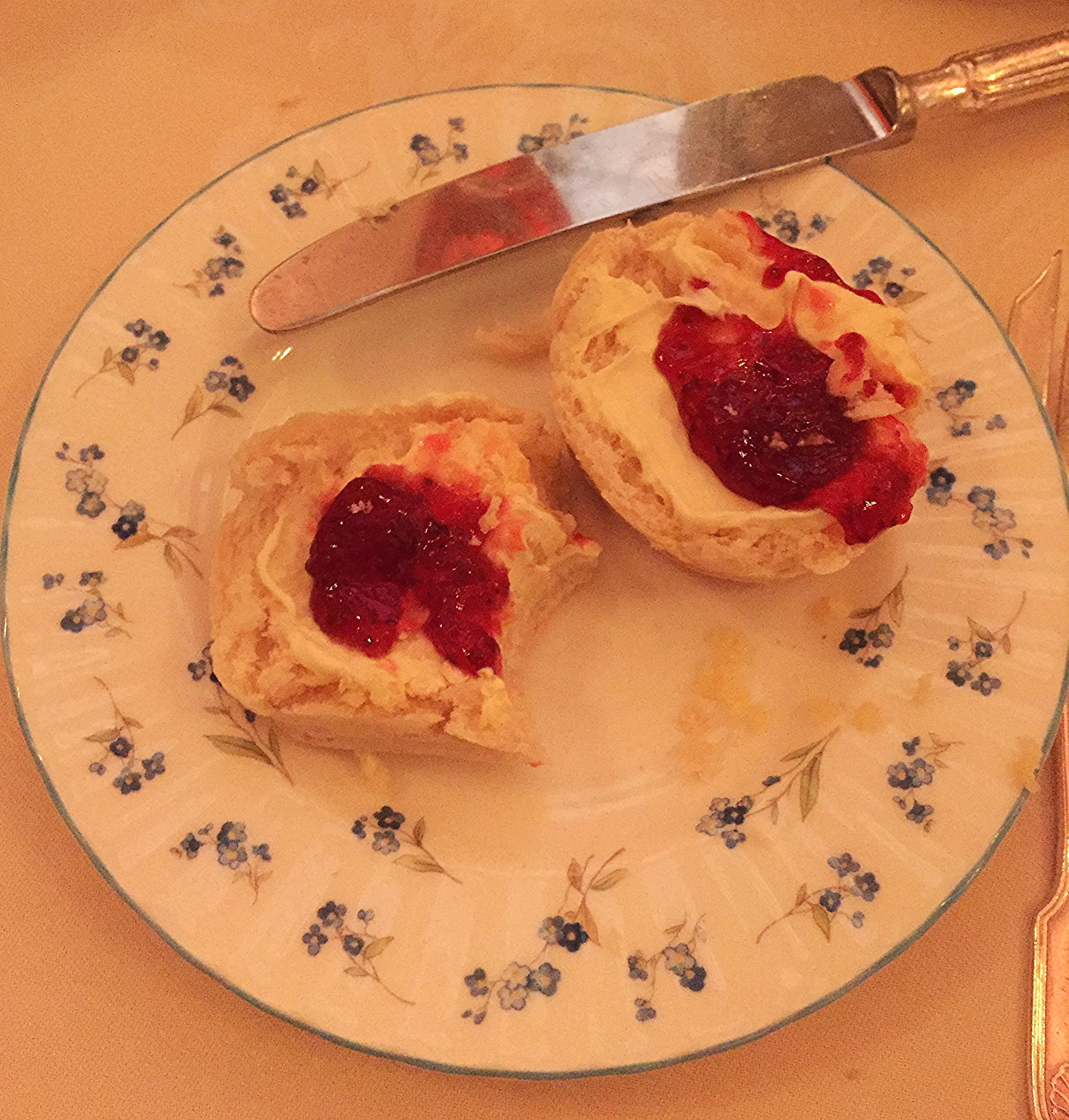 Scones - Review The Ritz Afternoon Tea