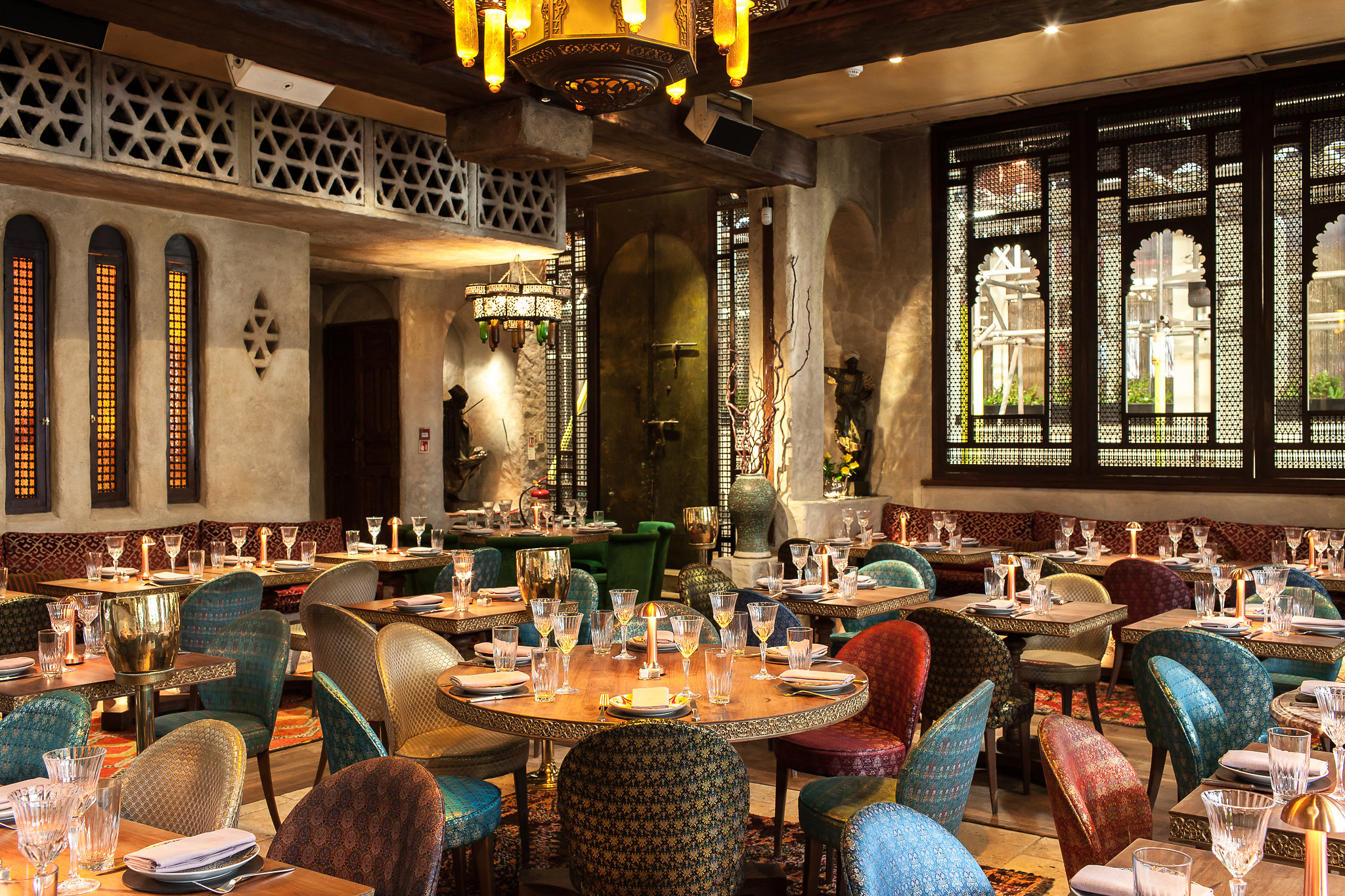 Momo restaurant review interiors, Mayfair London