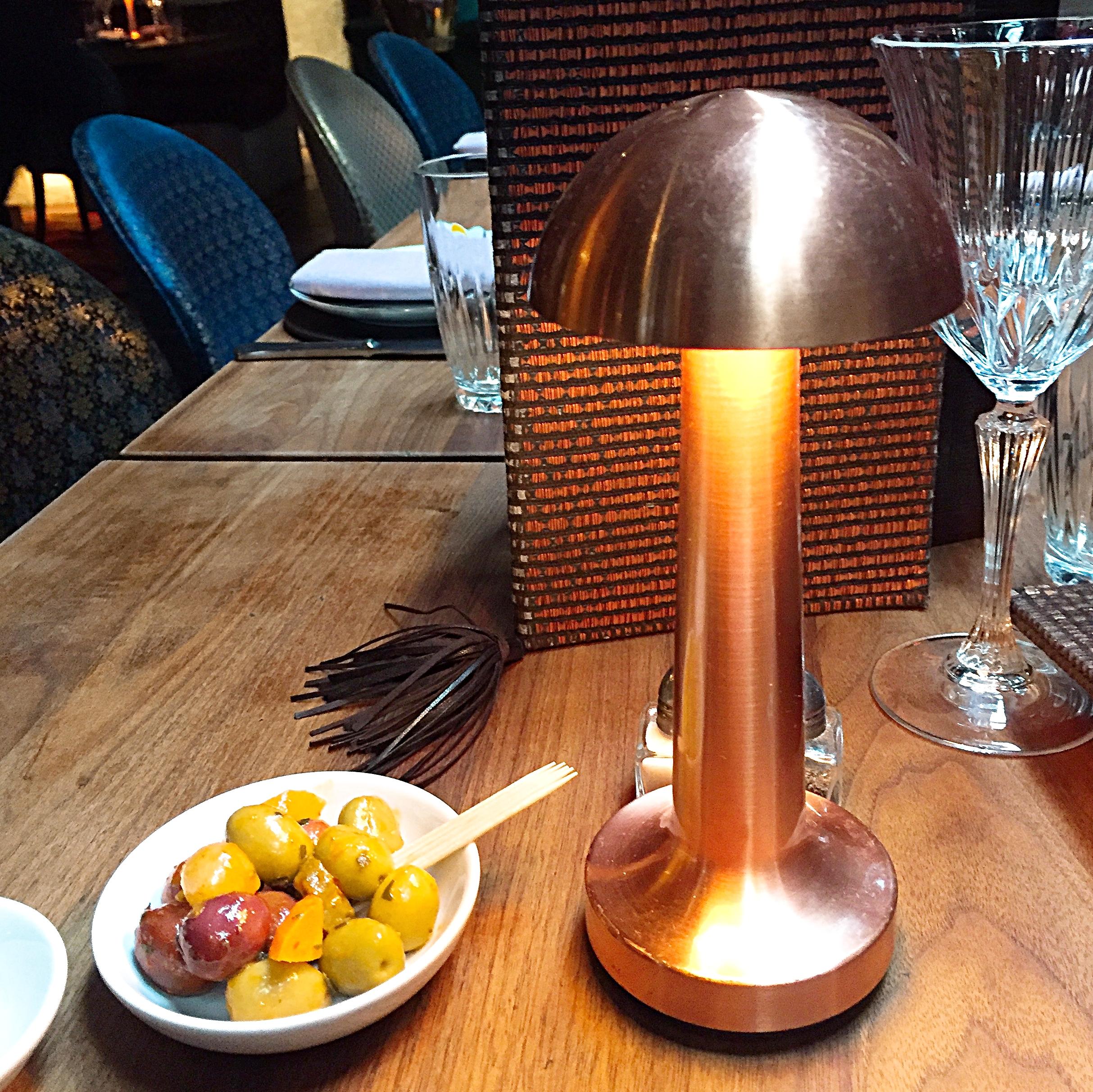 Olives - Momo restaurant review, Mayfair London