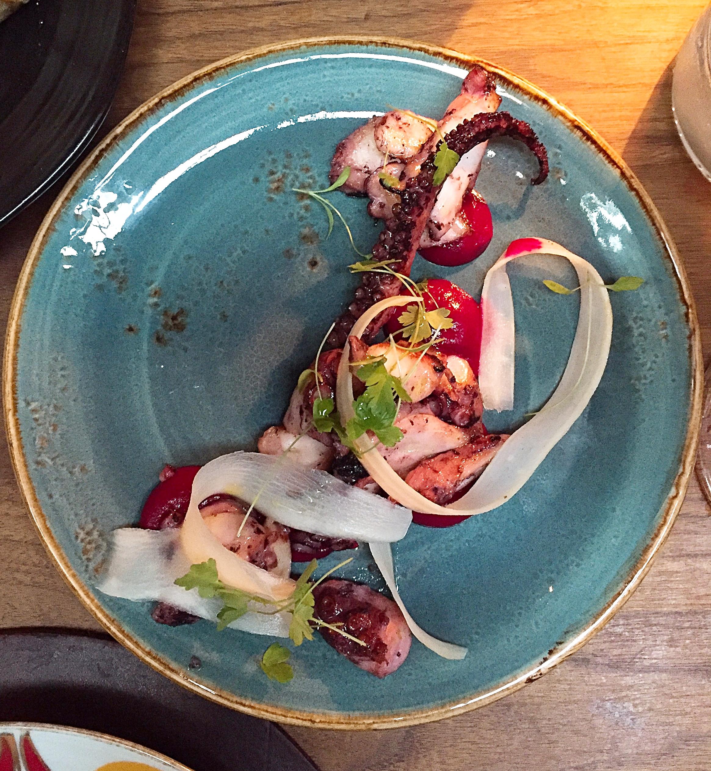 Octopus - Momo restaurant review, Mayfair London