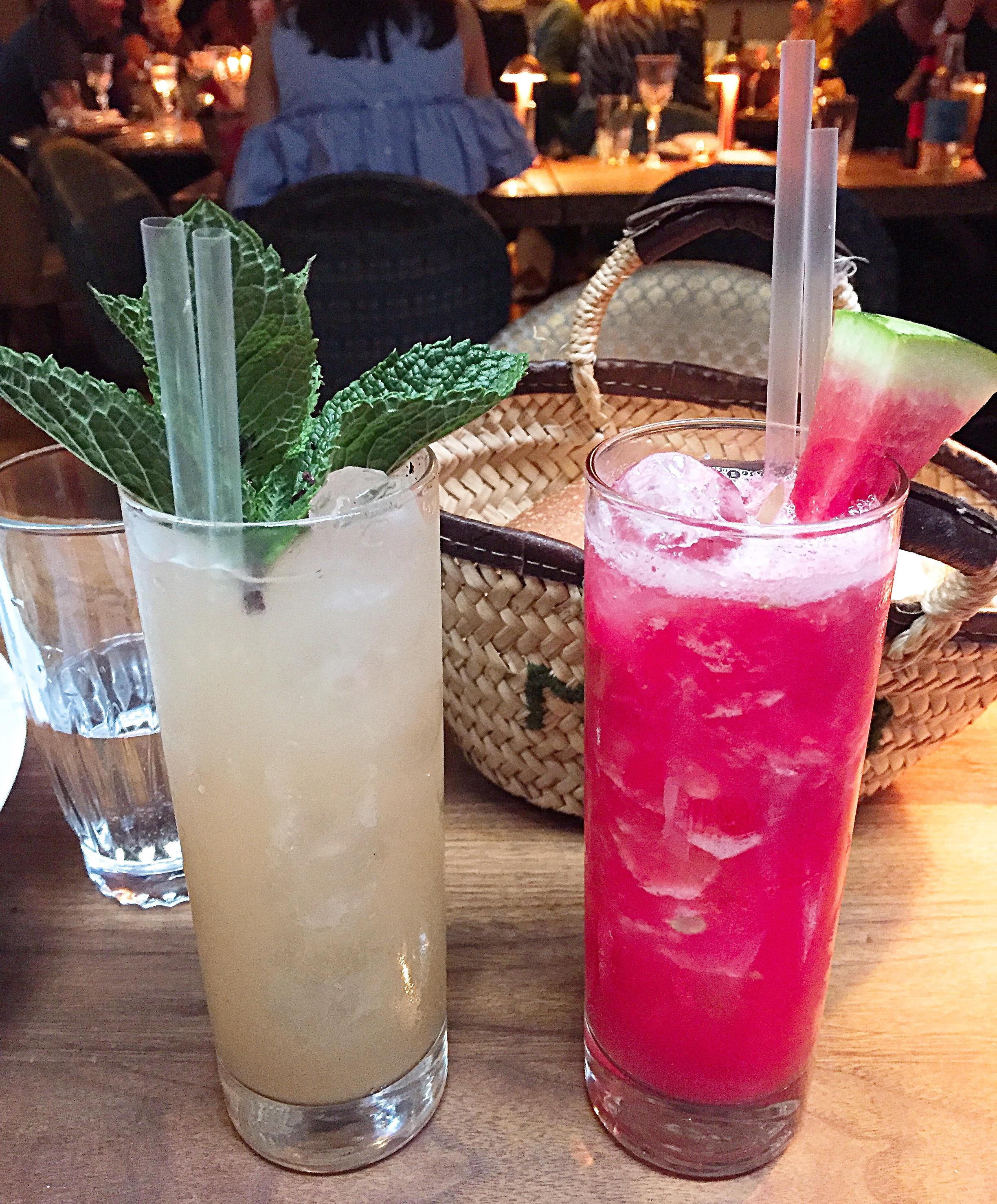 Cocktails - Momo restaurant review, Mayfair London