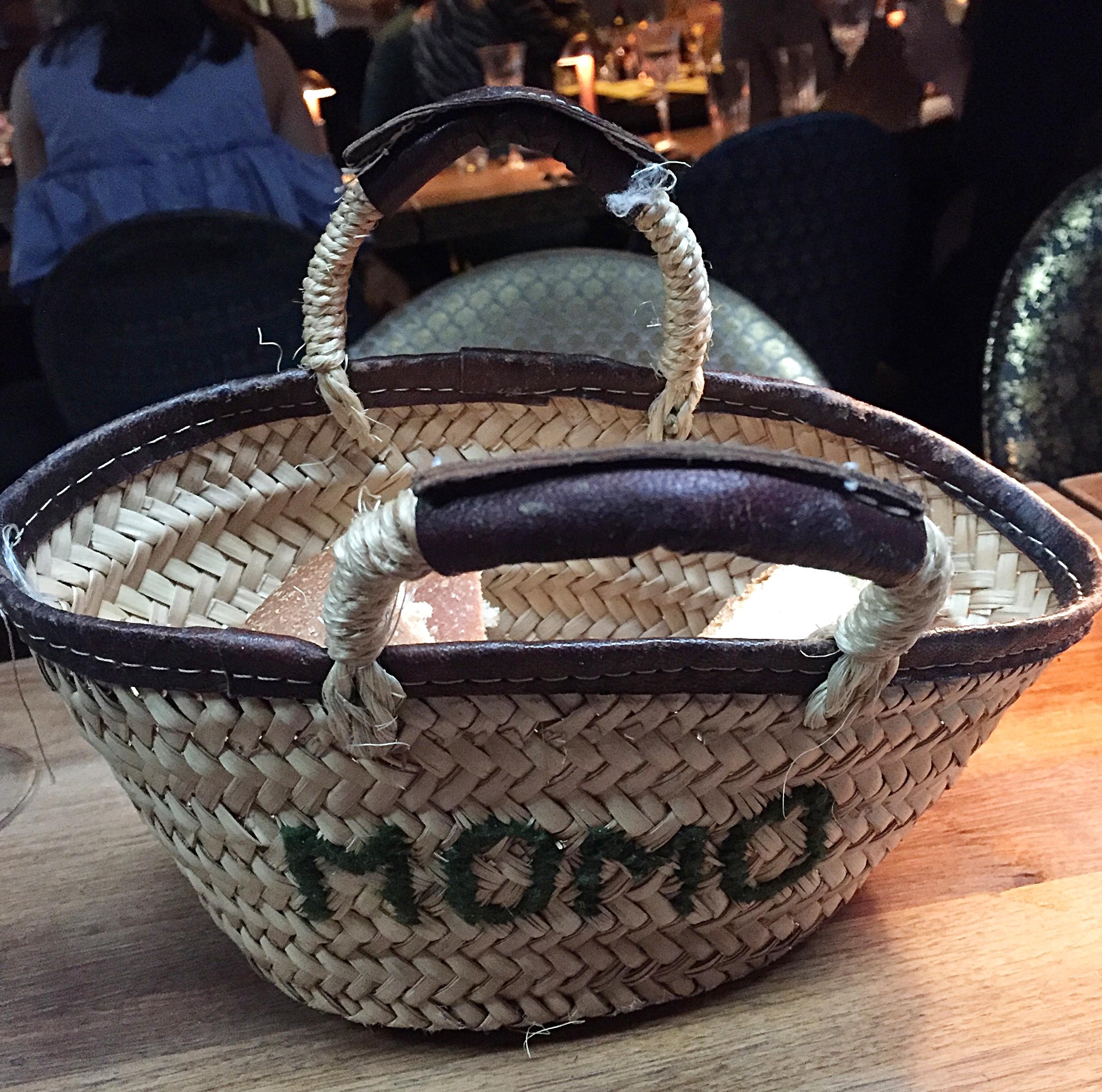 Bread basket - Momo restaurant review, Mayfair London