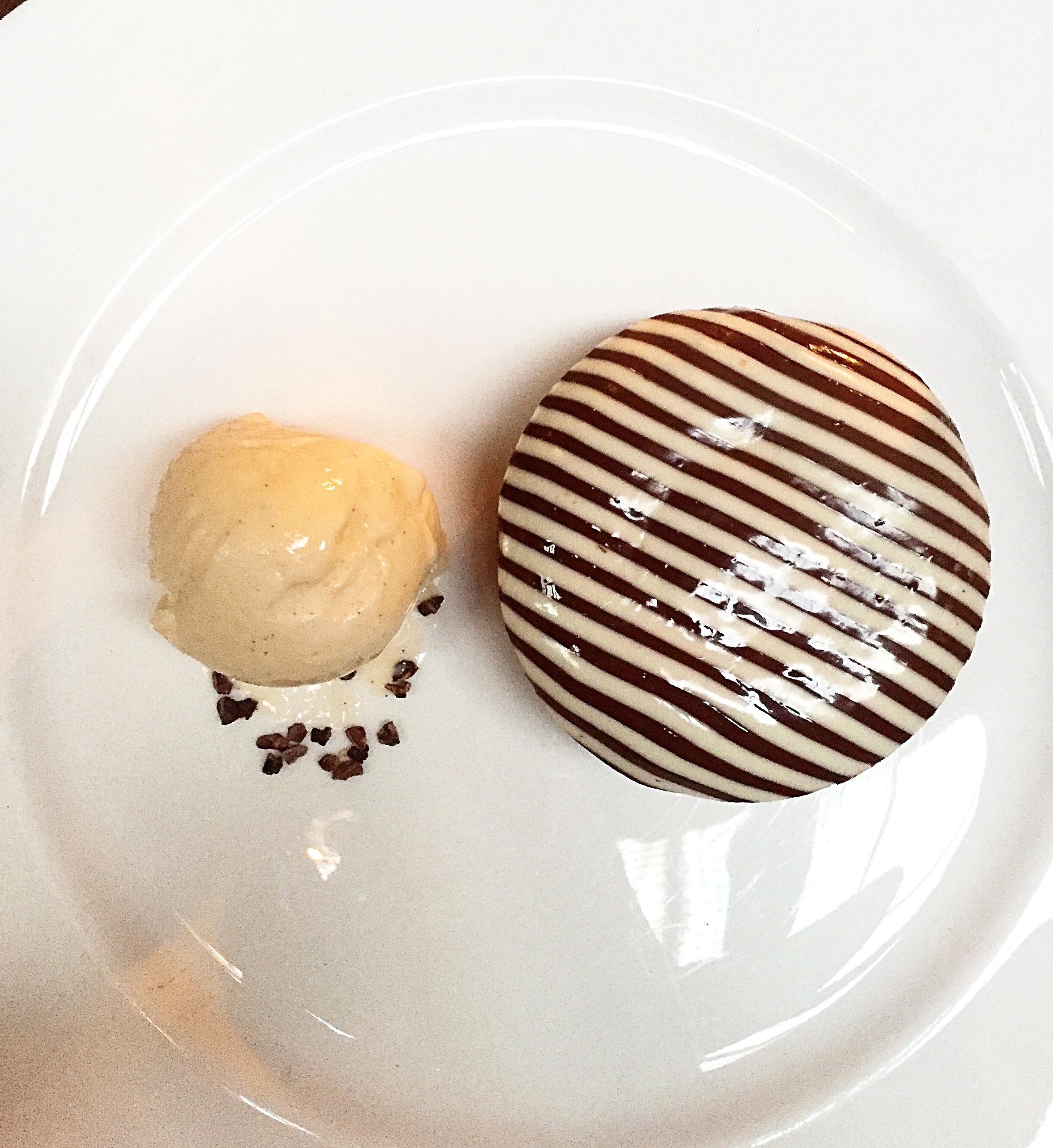 Dessert Menu Chocolate Fondant - Momo restaurant review, Mayfair London