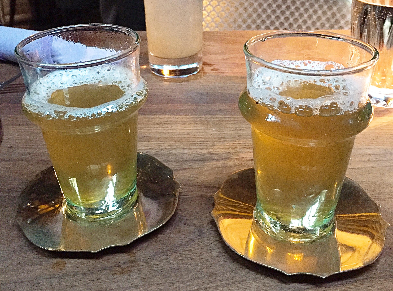 Mint Tea - Drinks Momo restaurant review, Mayfair London