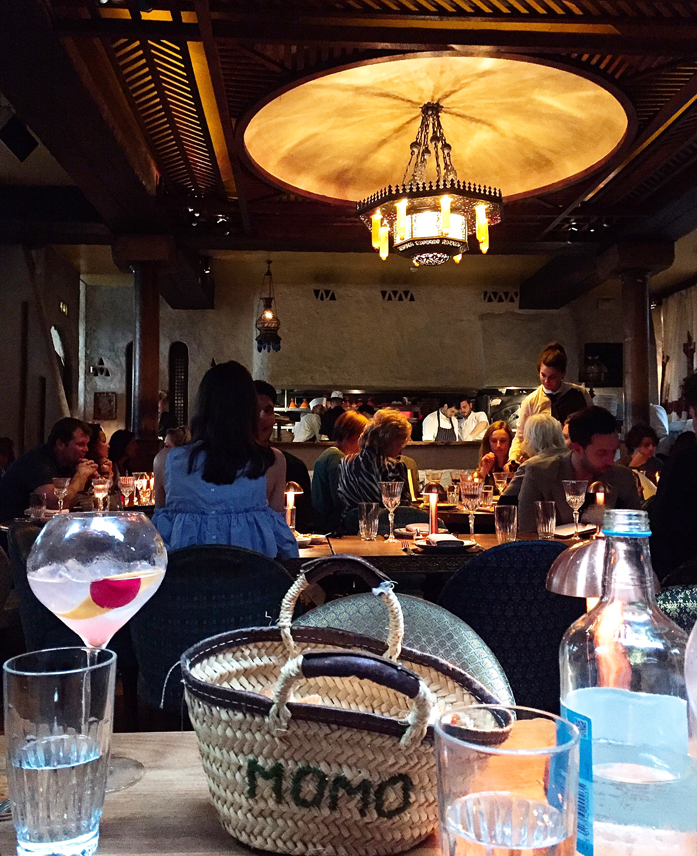 Moroccan decor - Momo restaurant review, Mayfair London