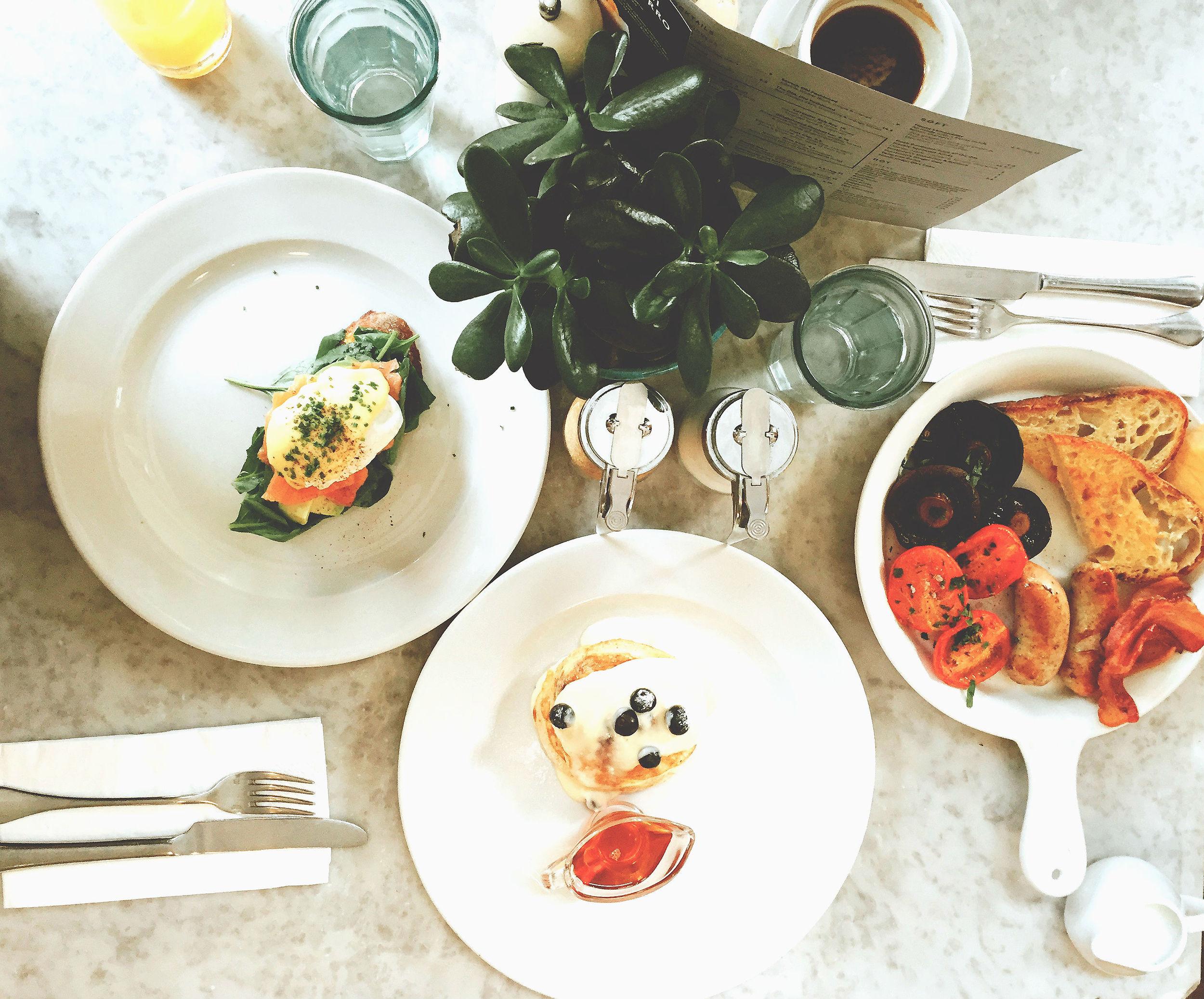 Breakfast at No.11 Pimlico Road
