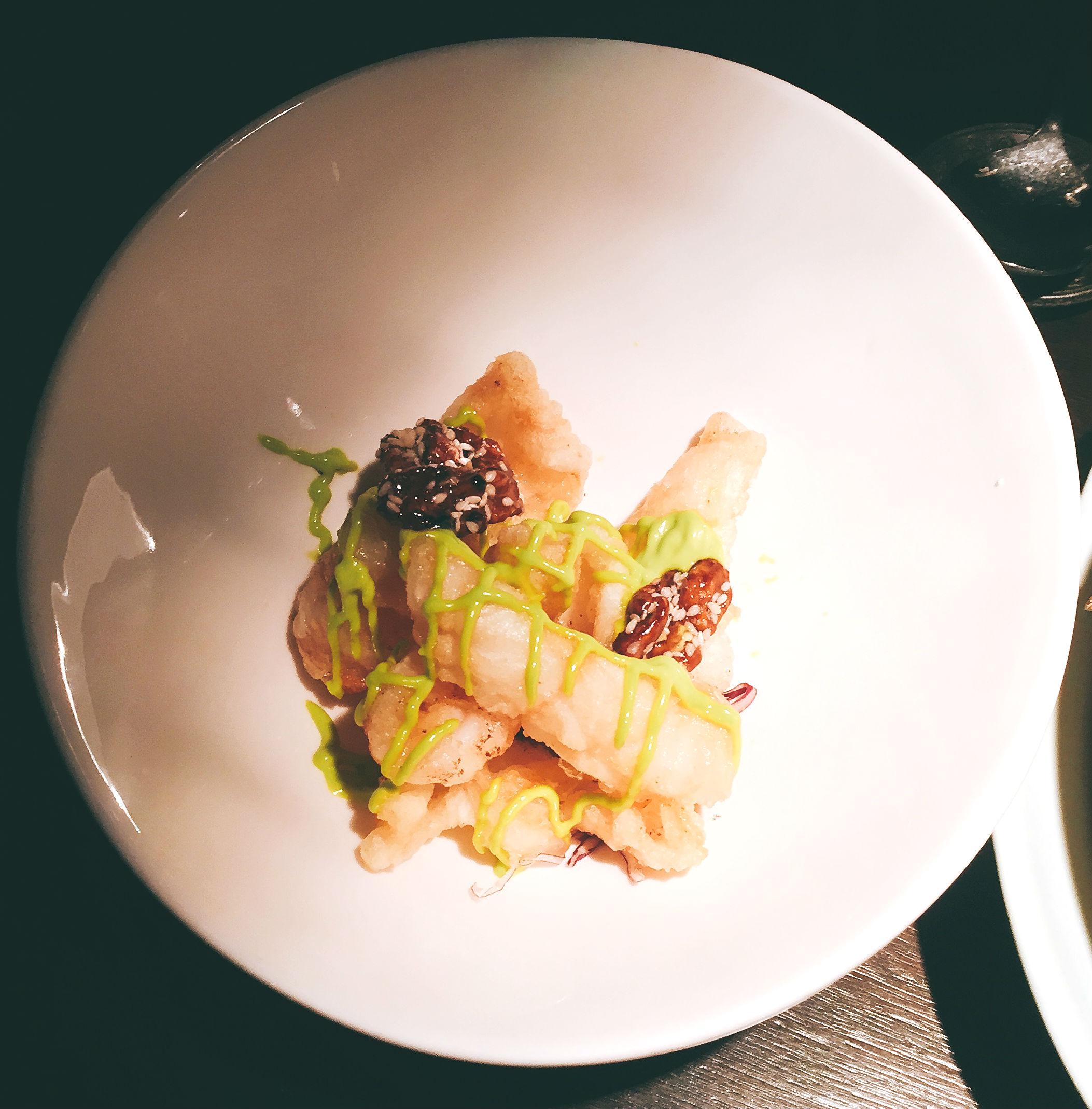 Crispy Shrimp - Hakkasan Hanway Place Review