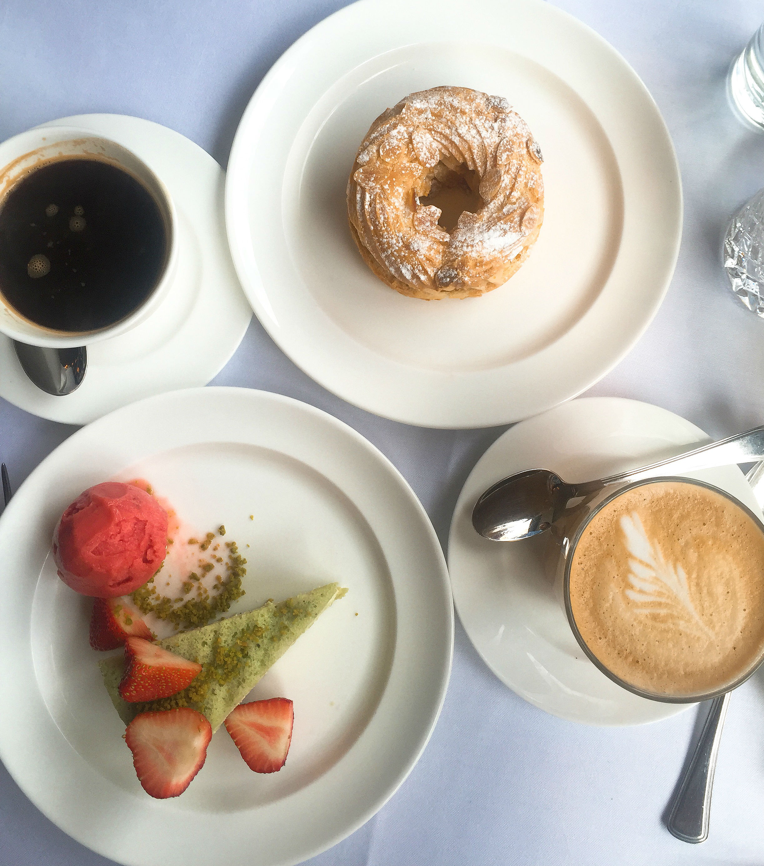 Dessert and coffee - Cafe Monico review