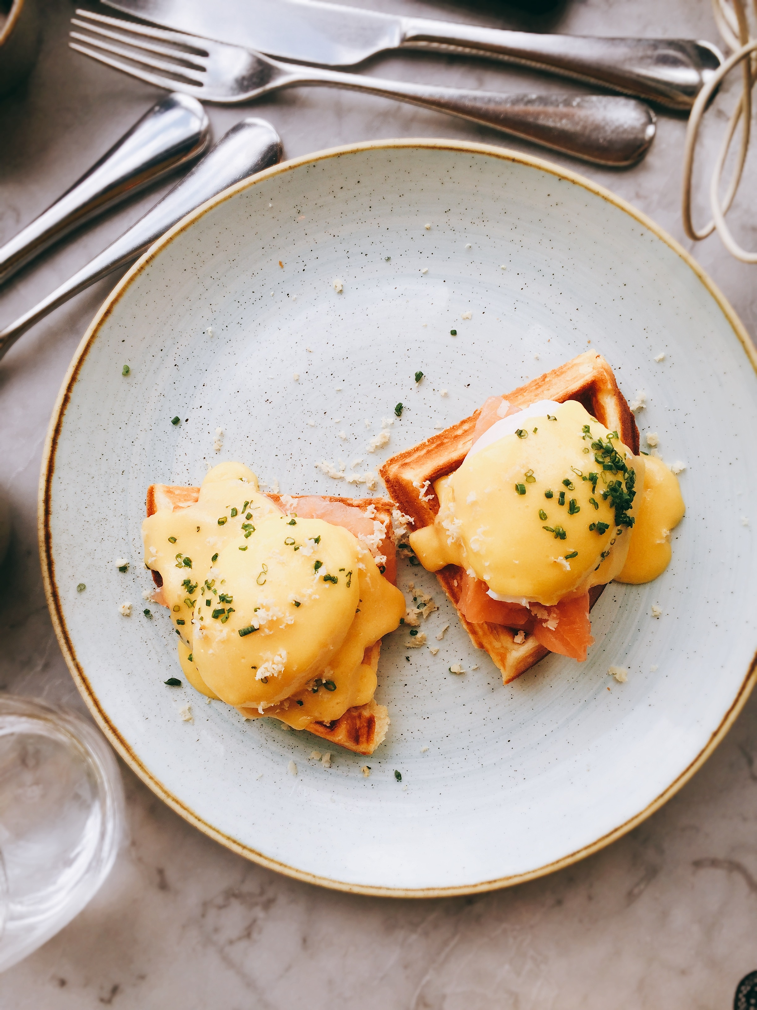 Brunch - Duck and Waffle restaurant review