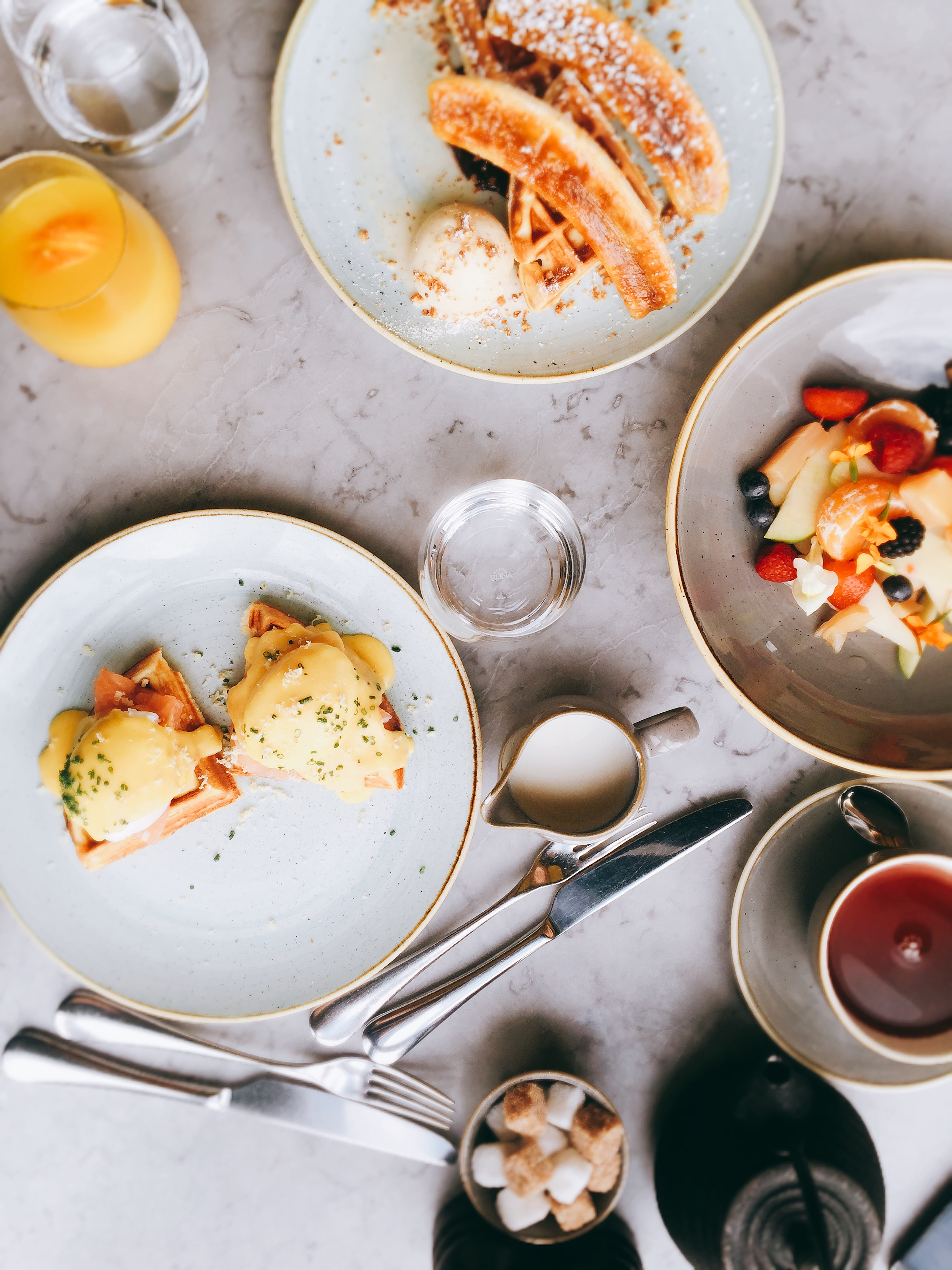 Brunch at Duck and Waffle - restaurant review