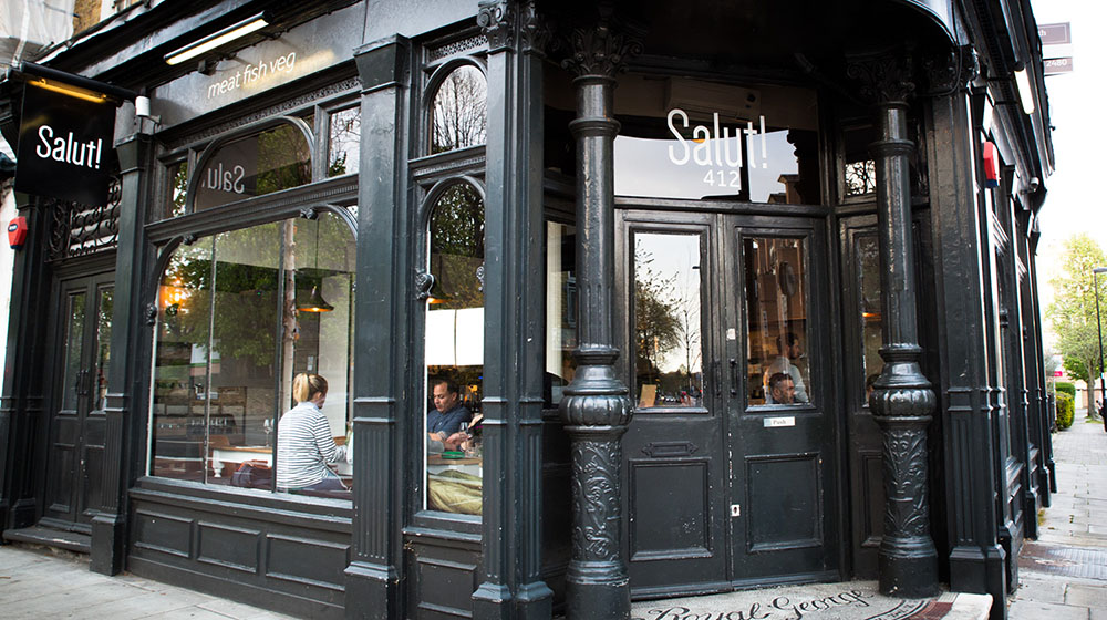 Salut! Exterior - Restaurant Review