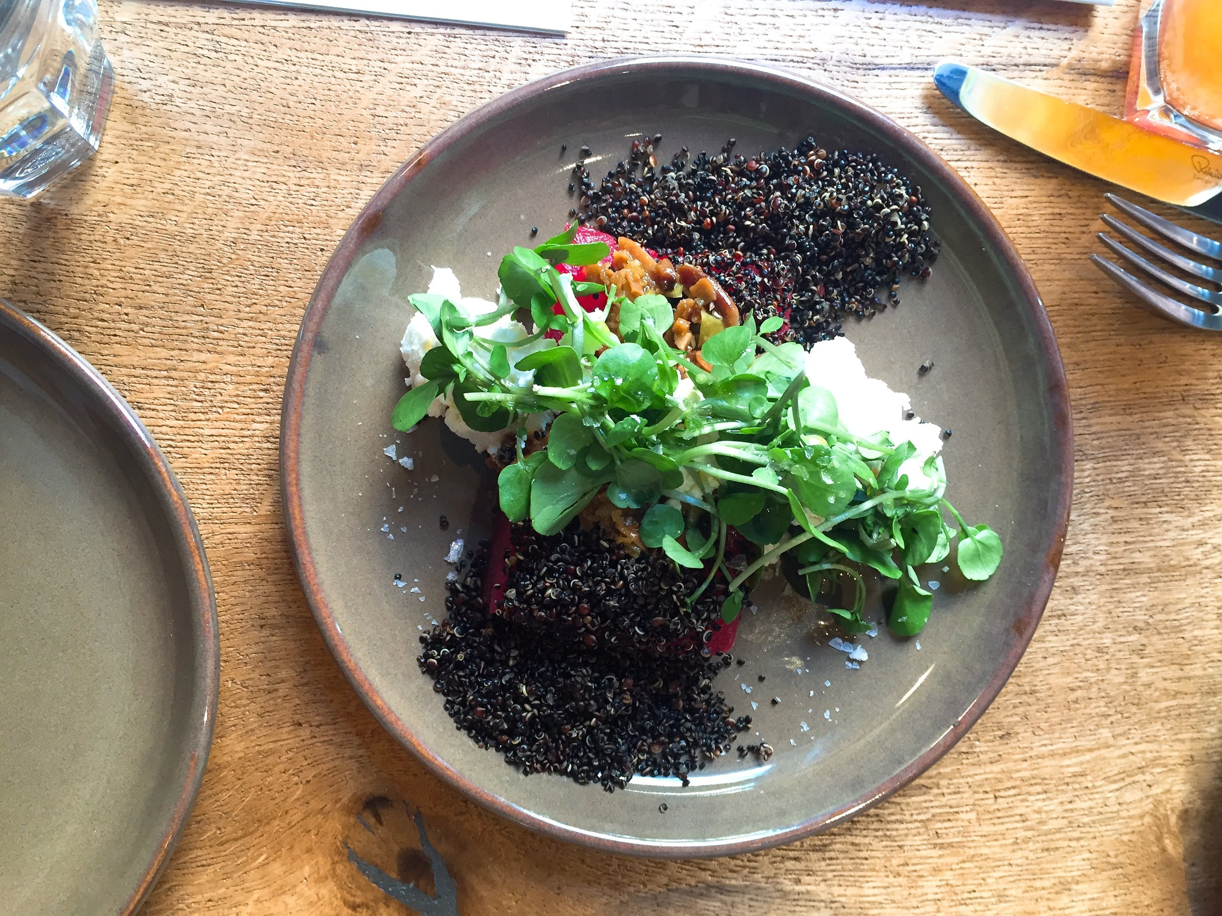 Watermelon and Quinoa - Casita Andina restaurant review