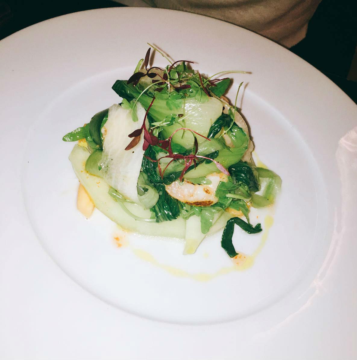 Salad - Vivat Bacchus restaurant review