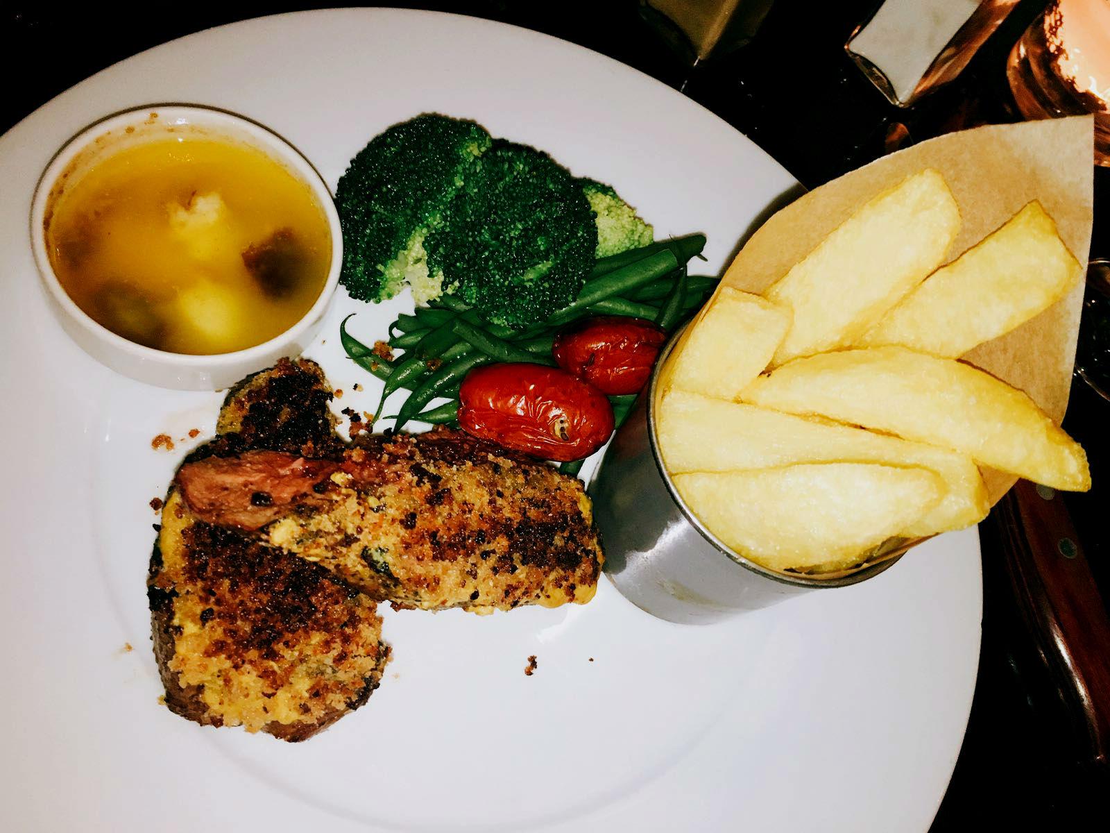 Main course - Vivat Bacchus restaurant review