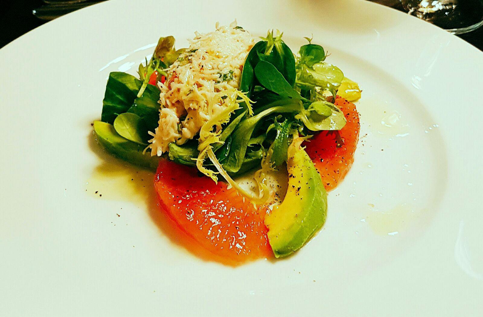 Salad at Hunter 486 - Review