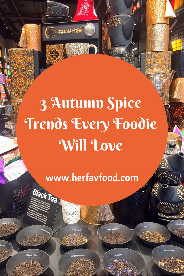 Autumn Spice Trends for Foodies