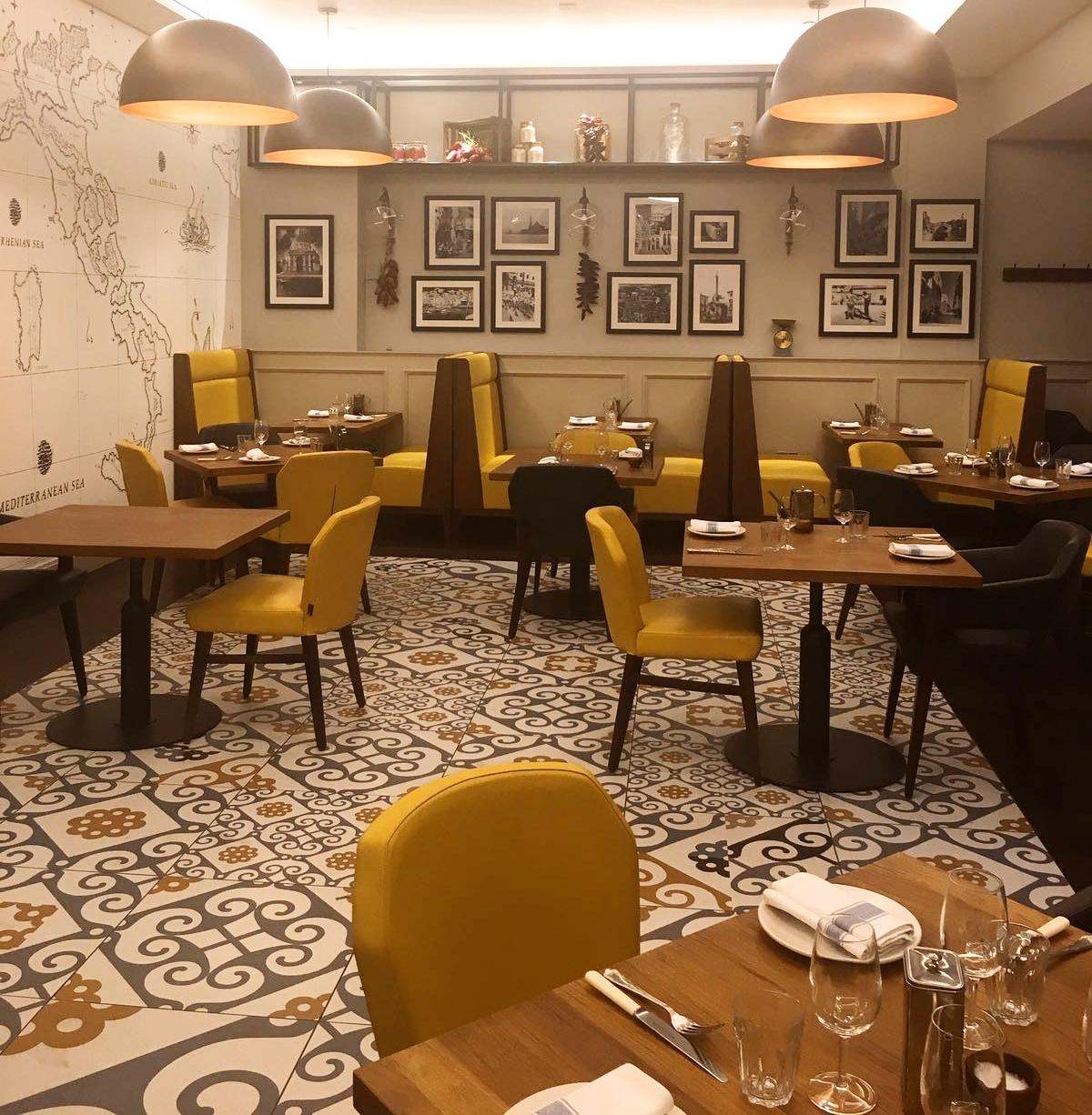 Mercante Sheraton Hotel Interior