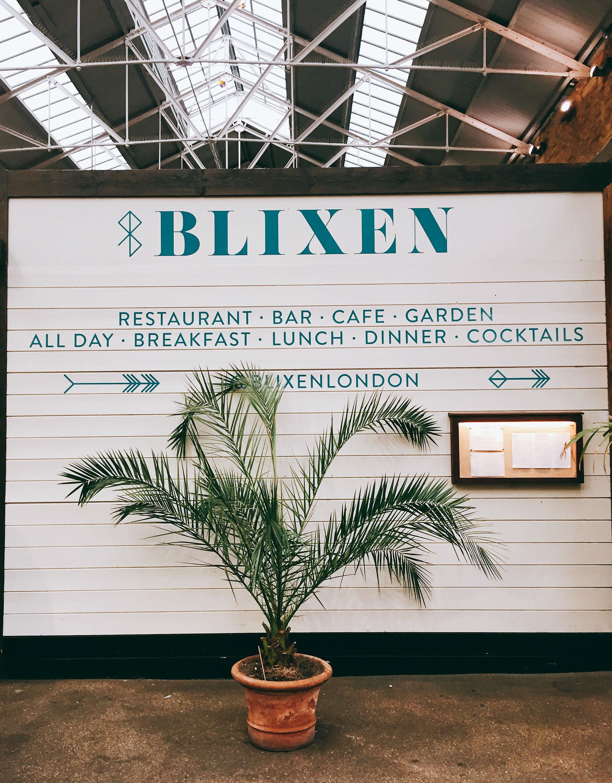 Review lunch at Blixen Shoreditch