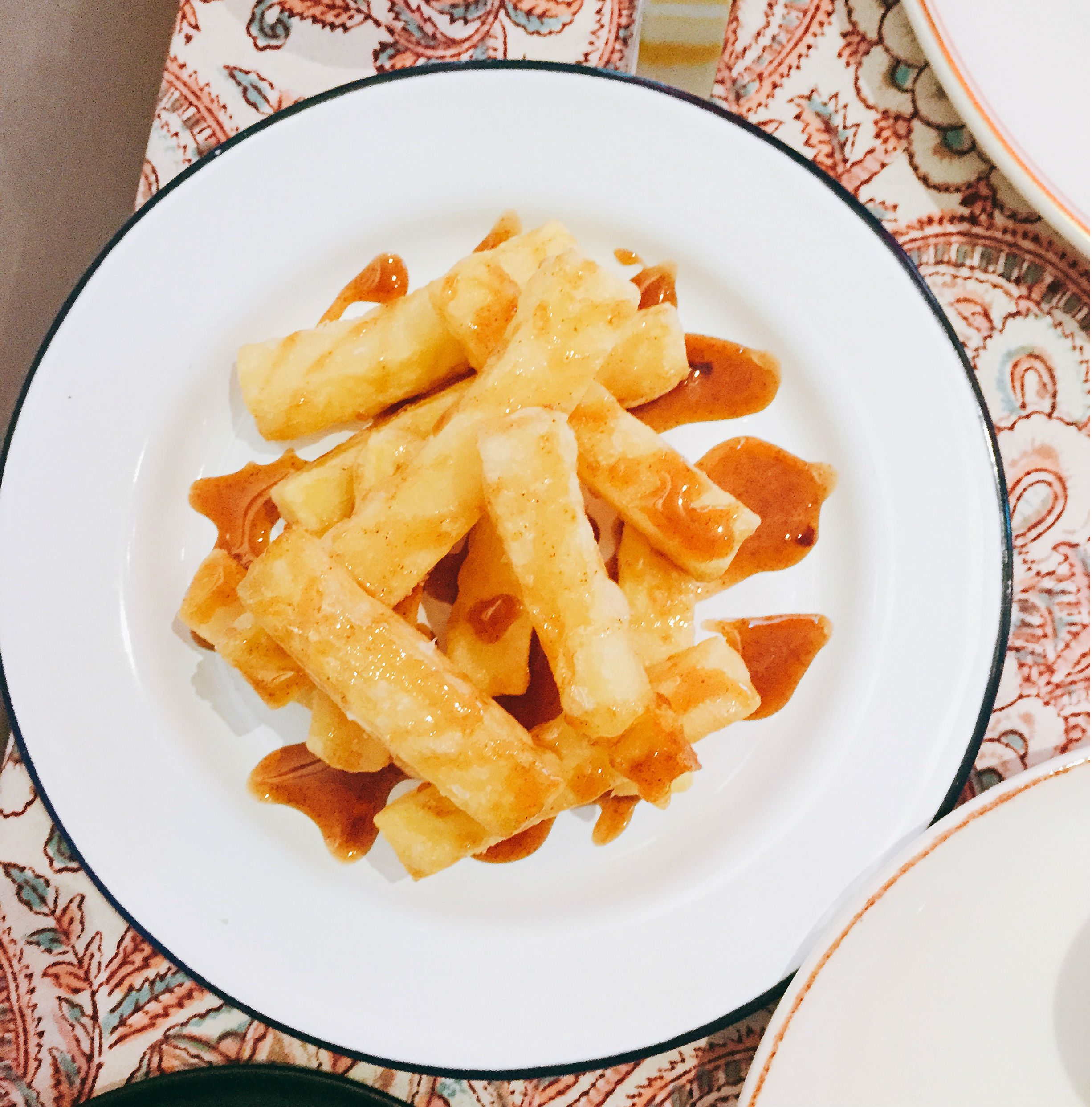 Caramel chips - Jikoni London restaurant review