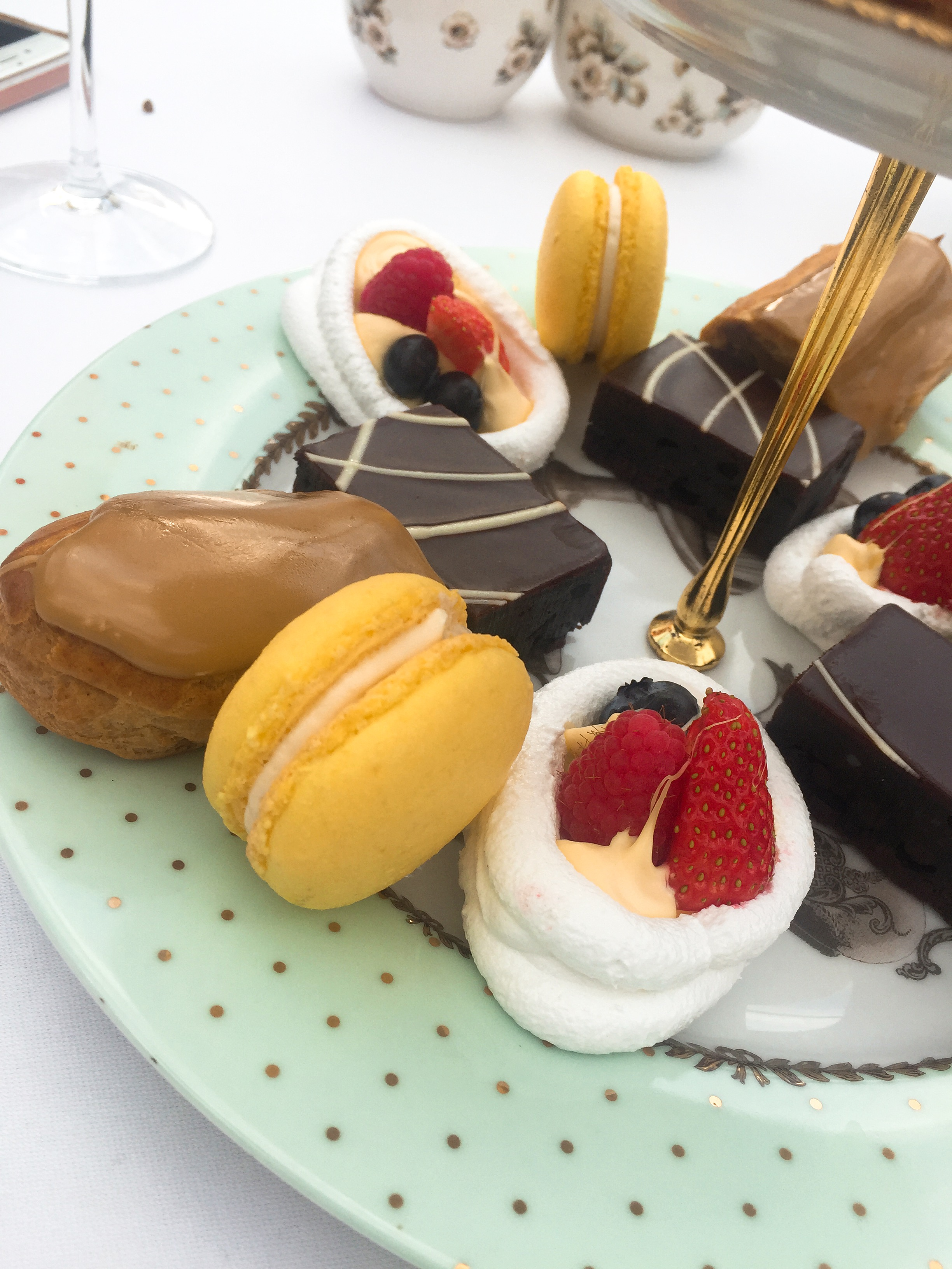 Afternoon Tea at Roof Gardens Kensington