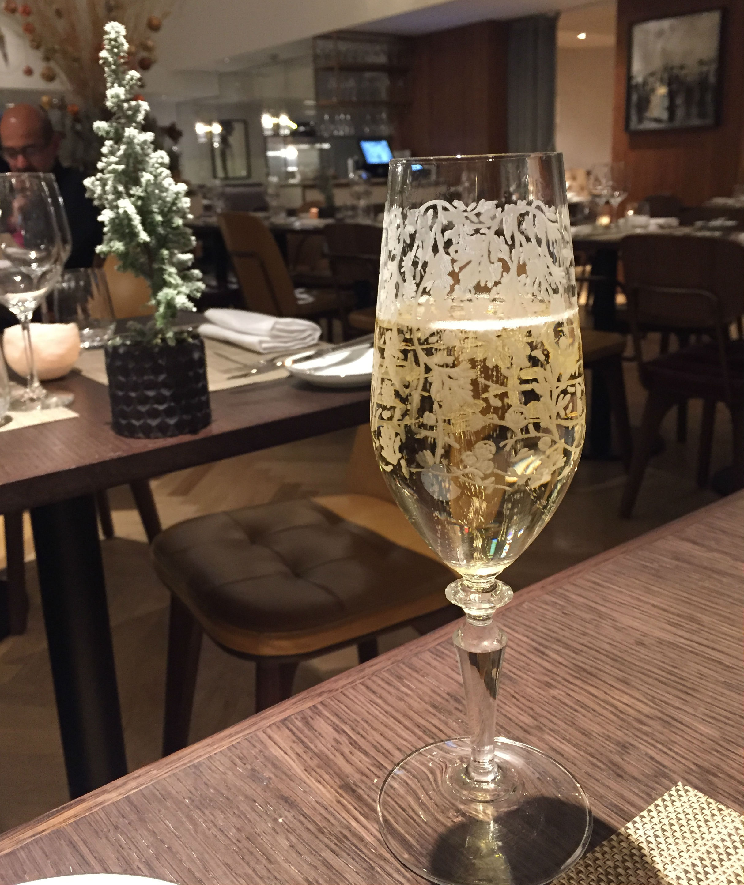 Champagne at Galvin At The Athenaeum - Review