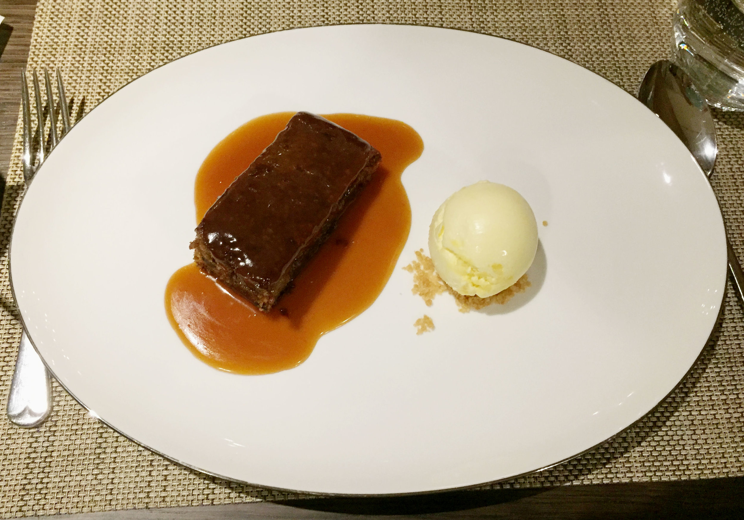 Sticky Toffee Pudding at Galvin At The Athenaeum - Review