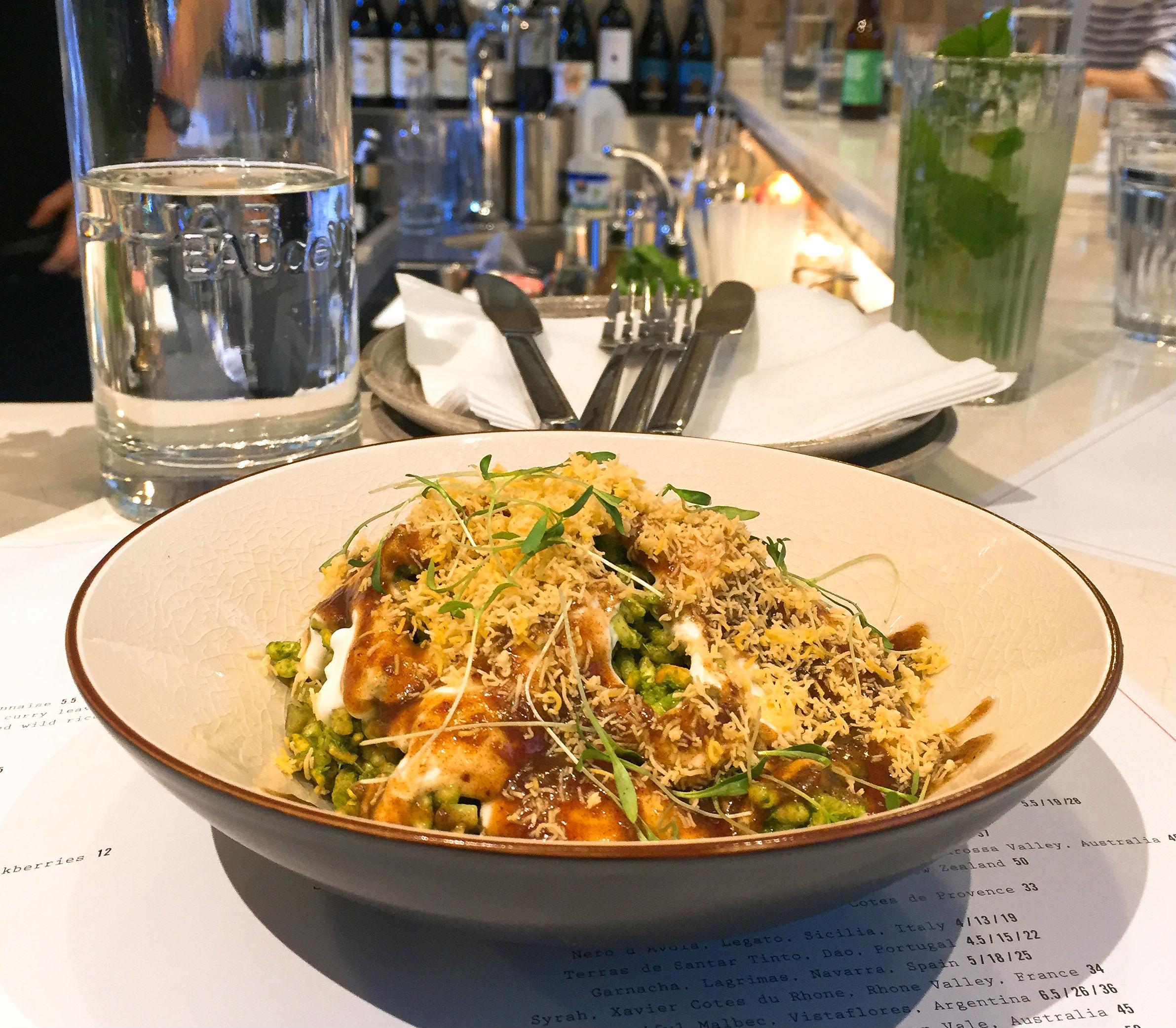Bhel at Kricket Soho restaurant review