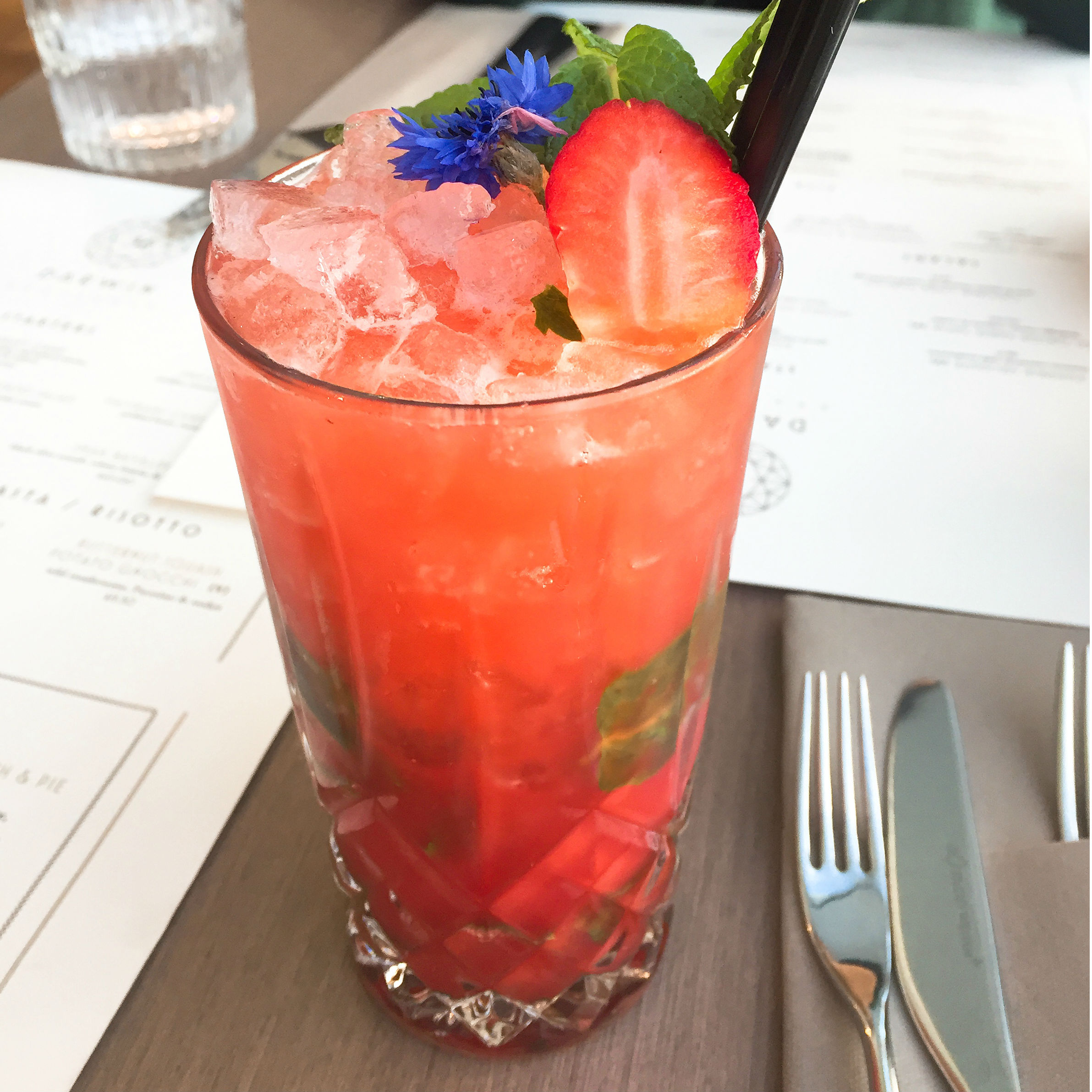 Cocktails at Darwin Brasserie, Sky Garden