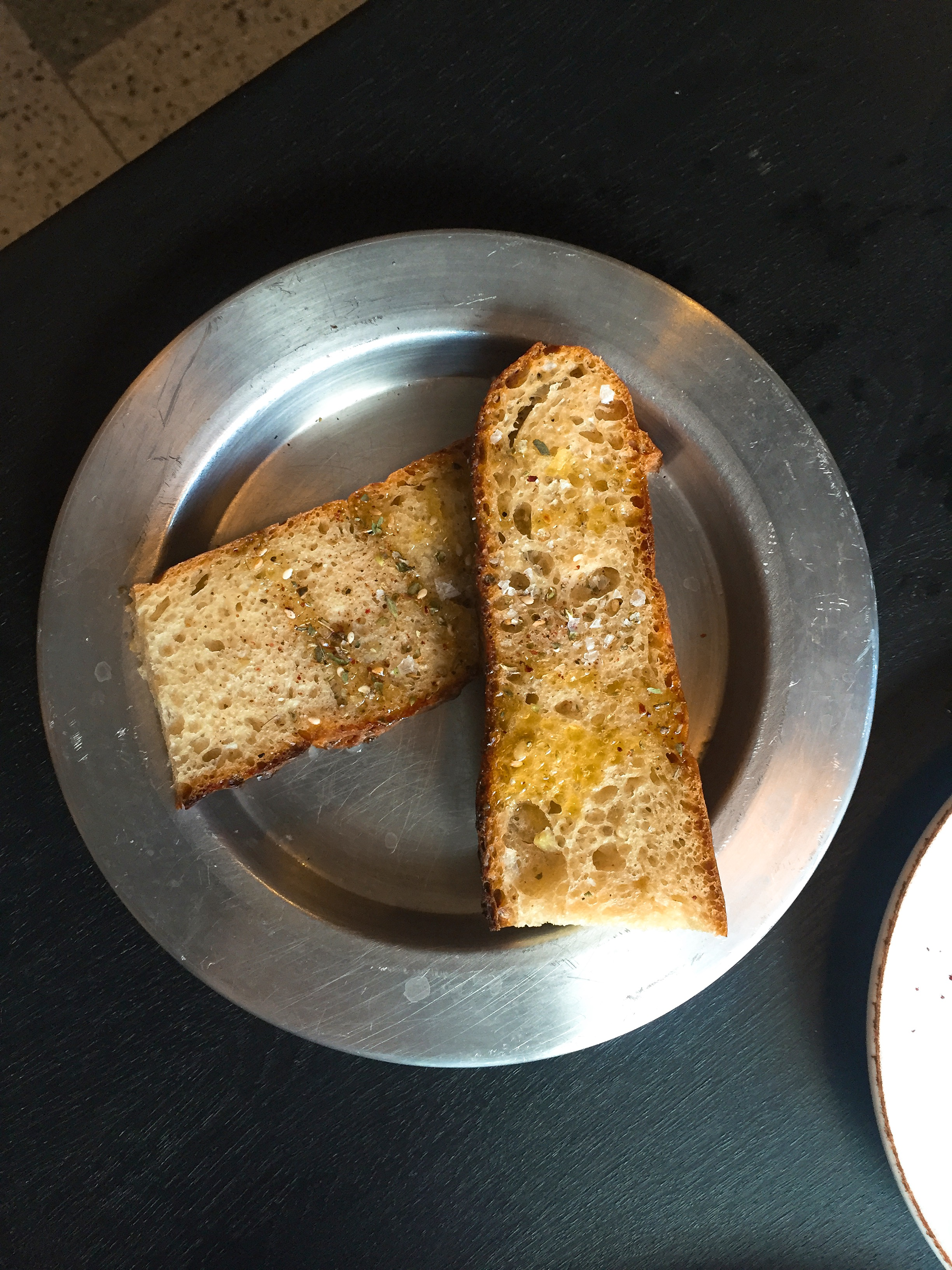 Clay oven bread - Yosma restaurant review London