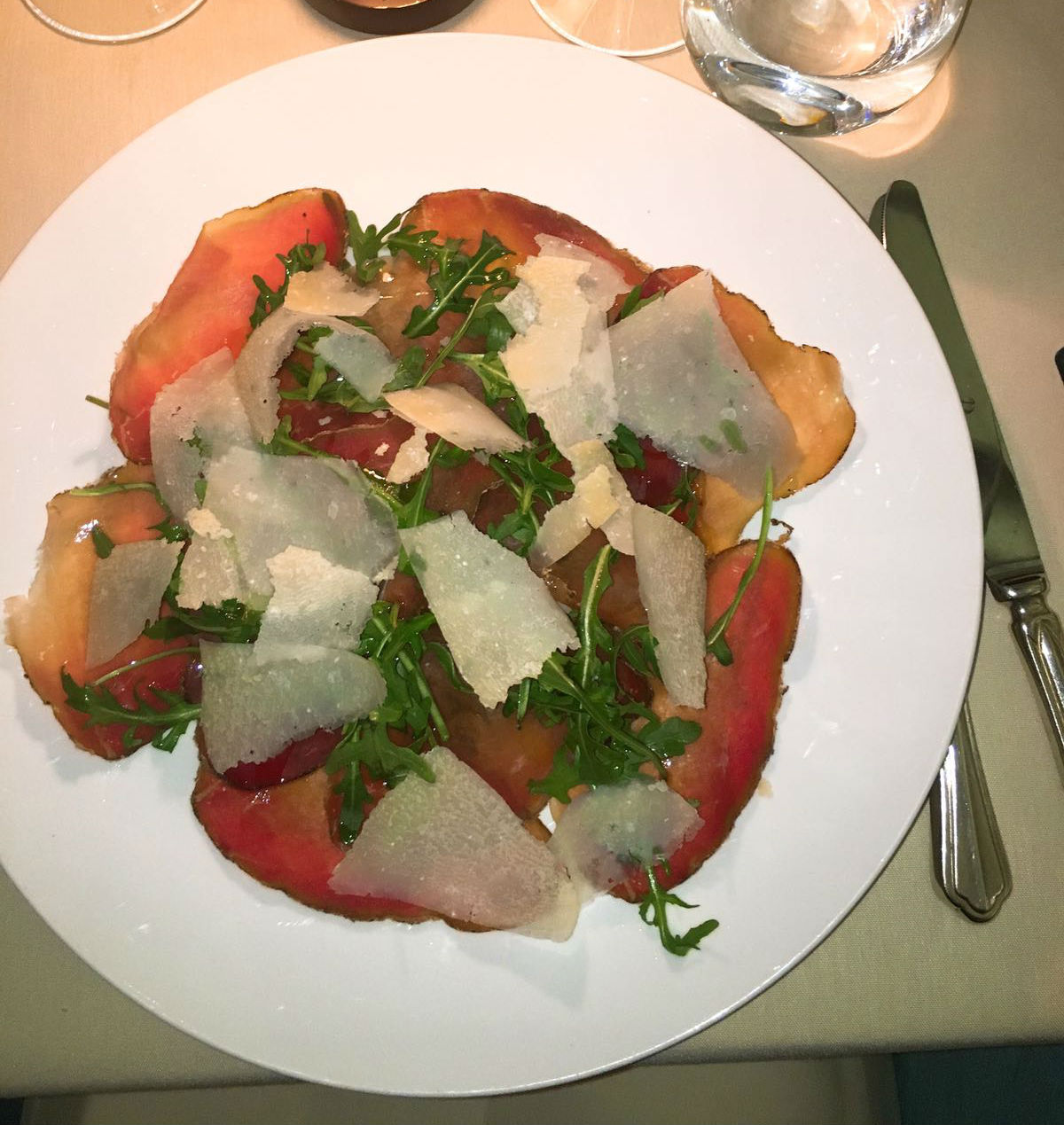 QP LDN dinner review