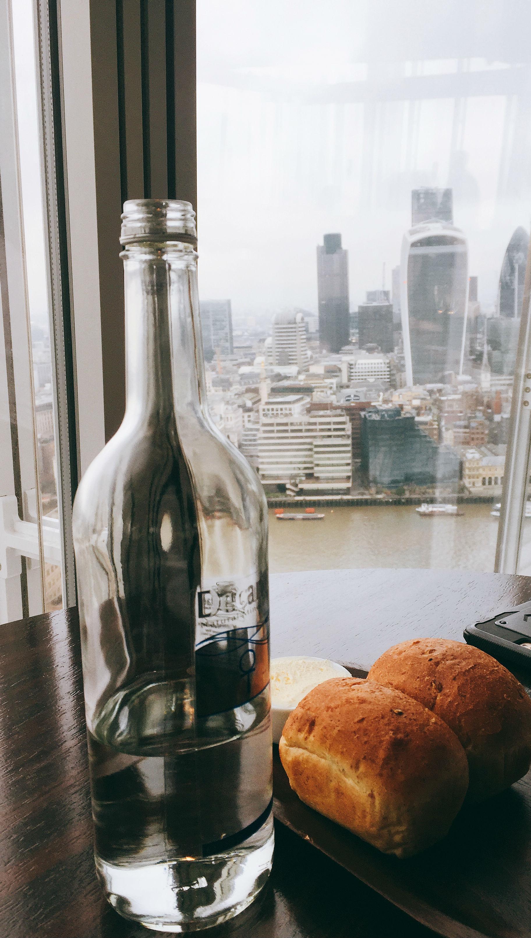 Aqua Shard Restaurant Review Views