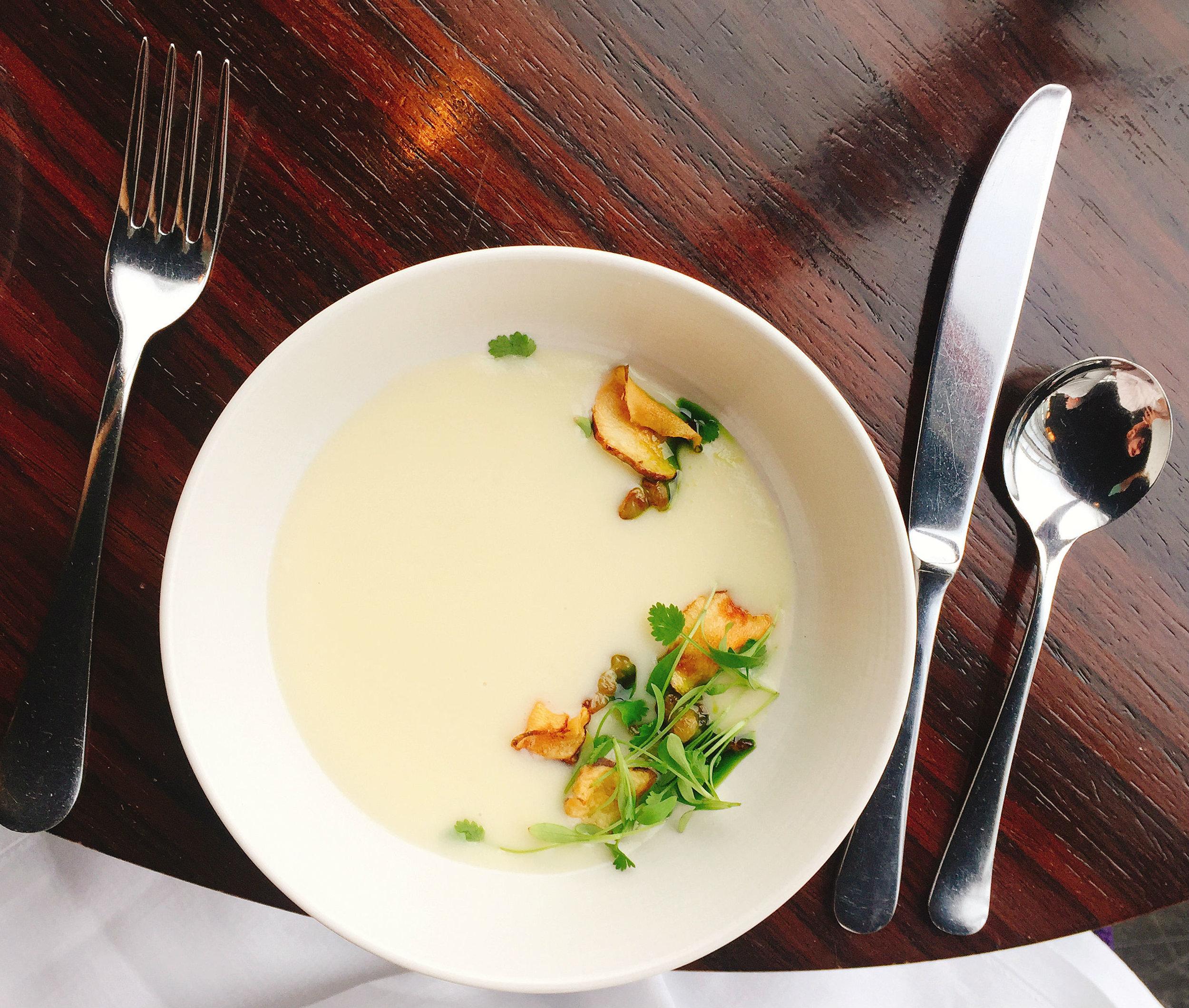 Soup - Aqua Shard Restaurant Review Views