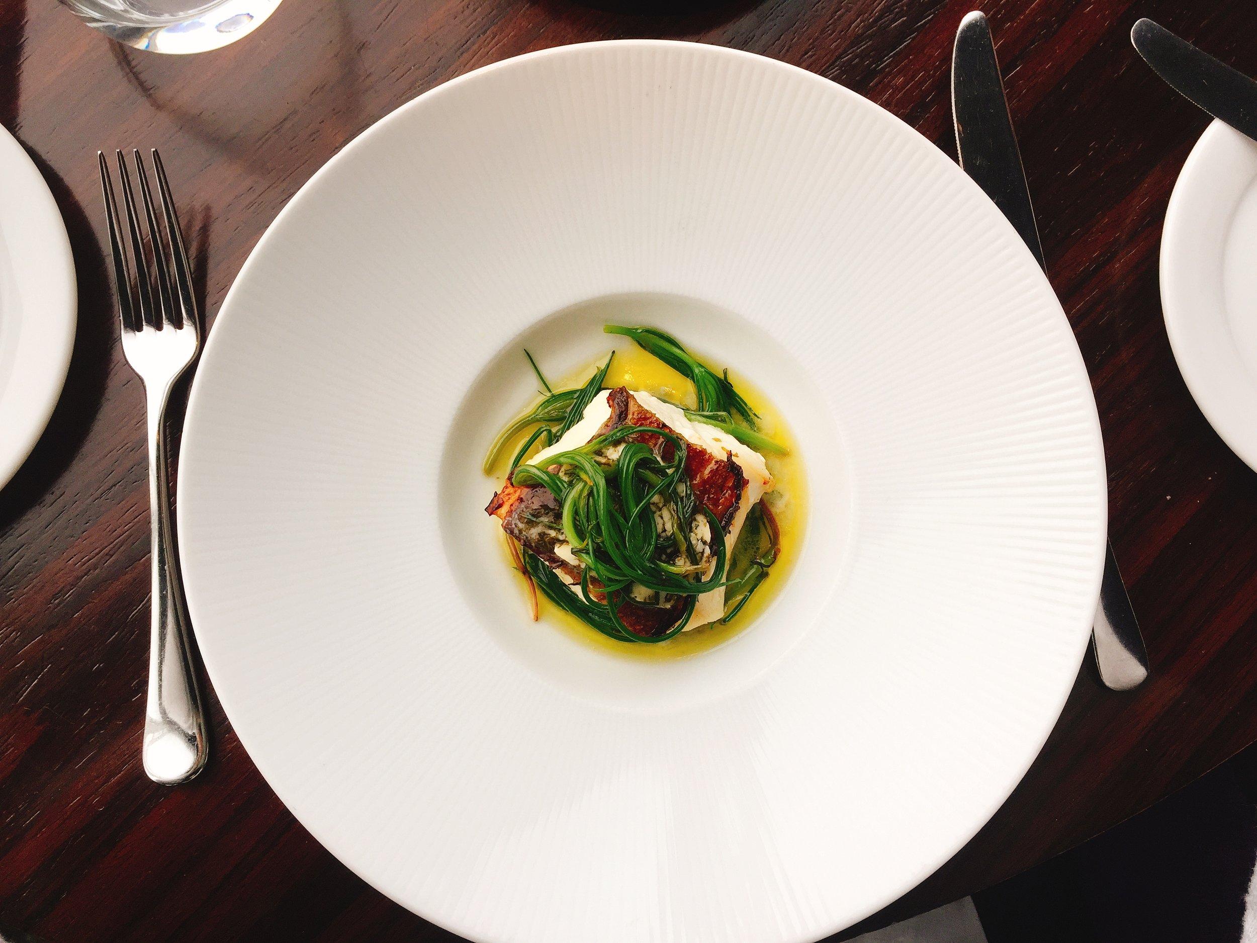 Main Course - Aqua Shard Restaurant Review