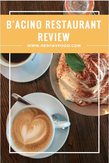 B'acino restaurant review