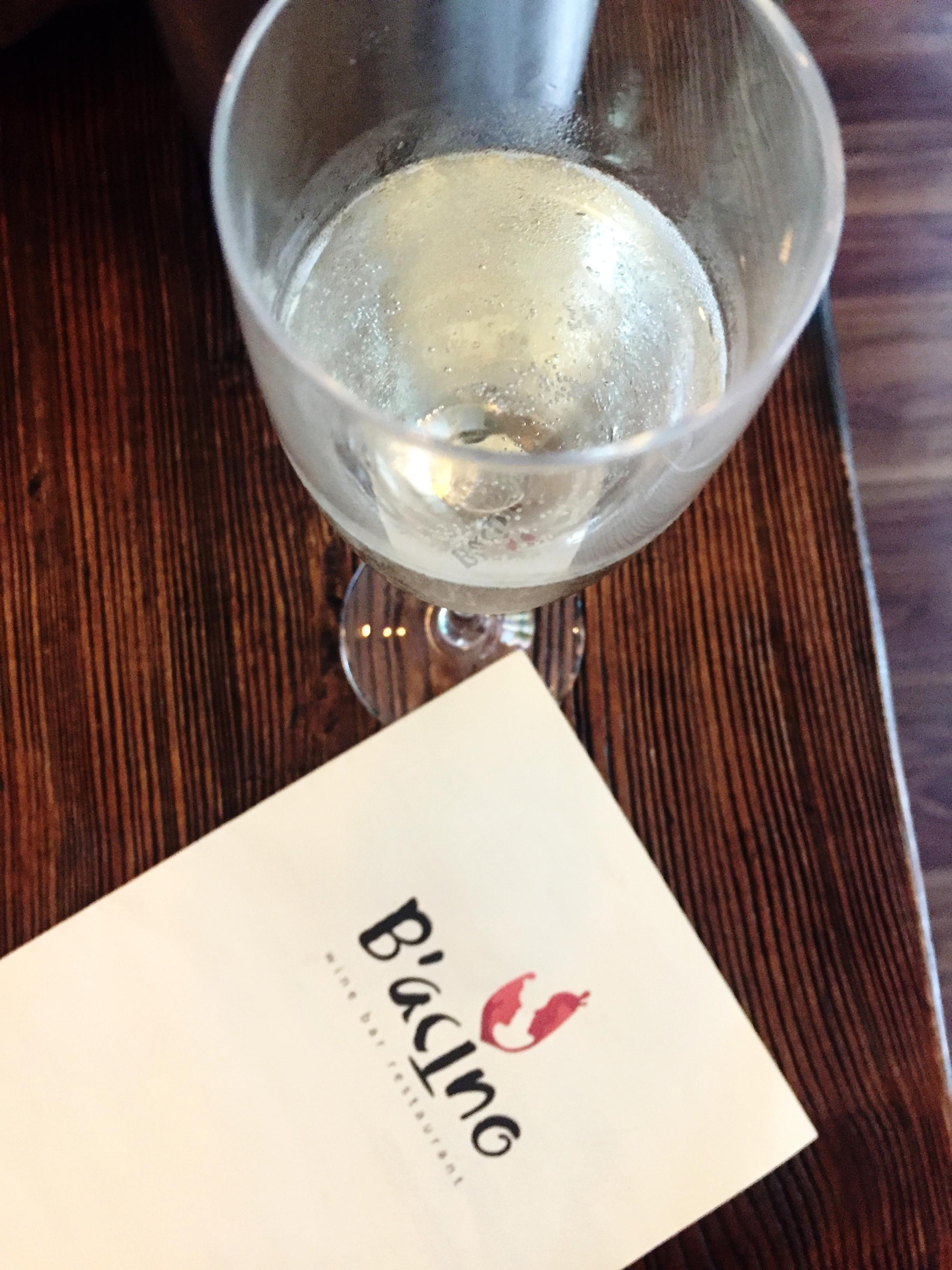 B'acino wine bar restaurant review
